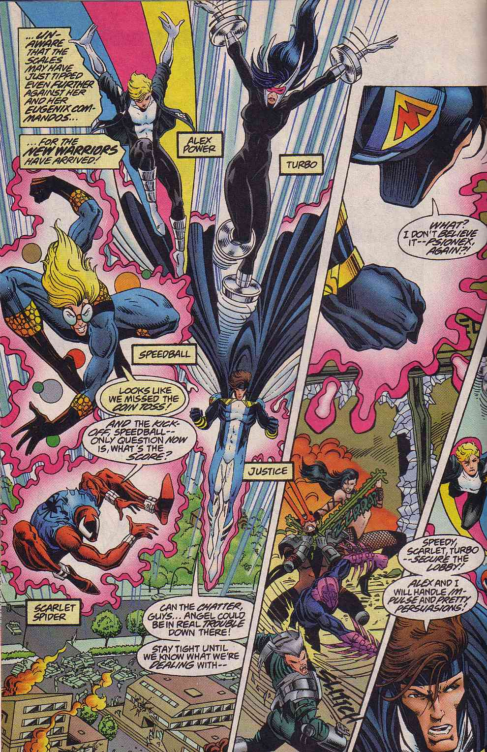 The New Warriors Issue #64 #68 - English 5