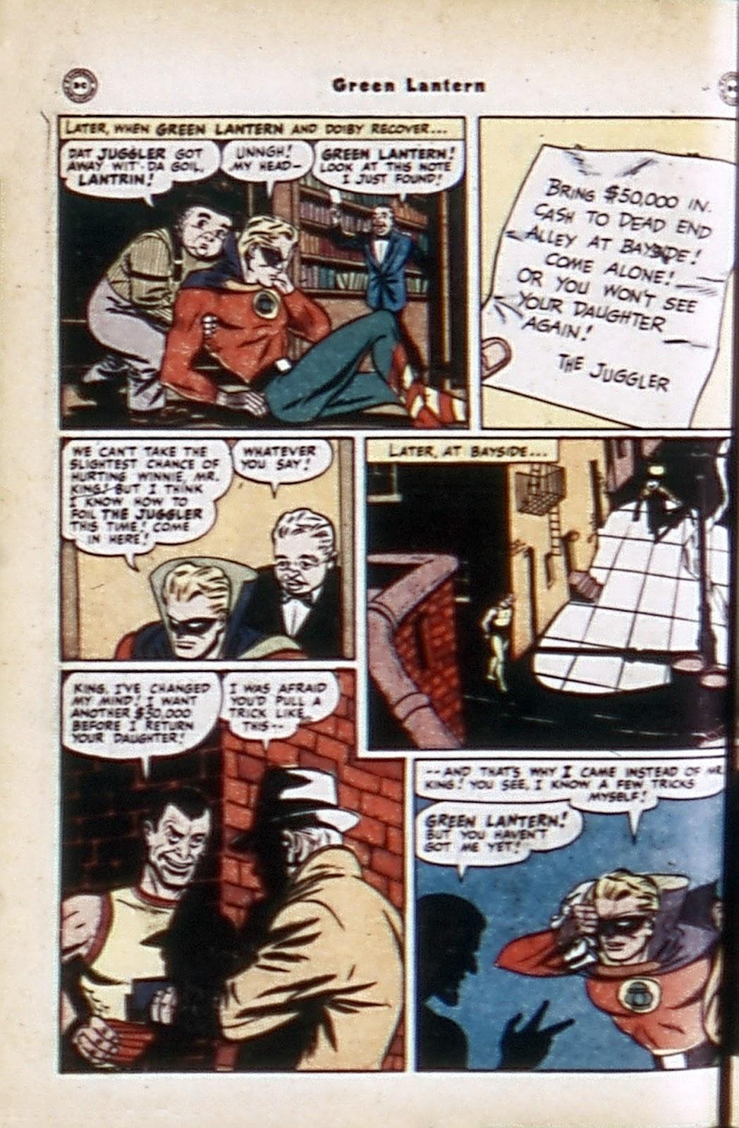 Green Lantern (1941) Issue #32 #32 - English 8