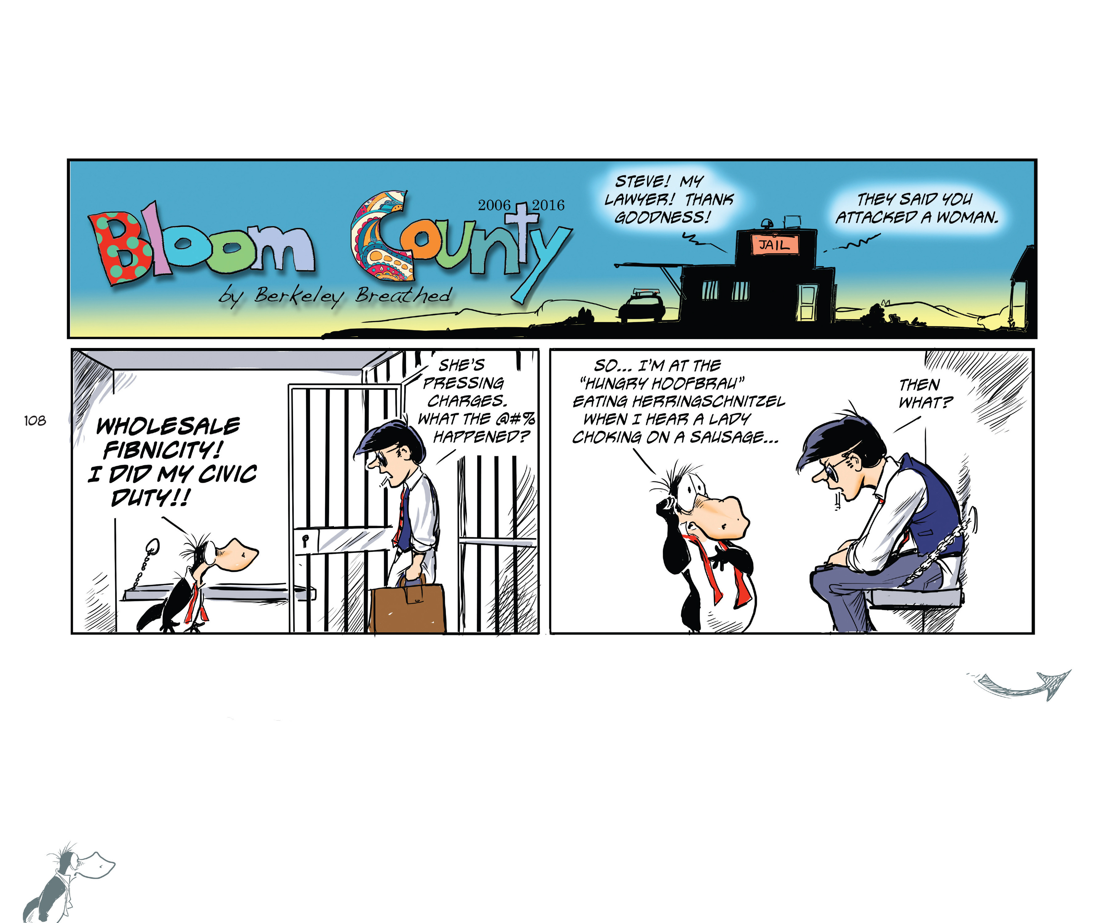 Read online Bloom County Episode XI: A New Hope comic -  Issue # Full - 110