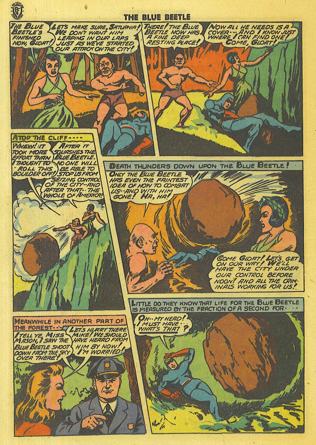 The Blue Beetle issue 35 - Page 13
