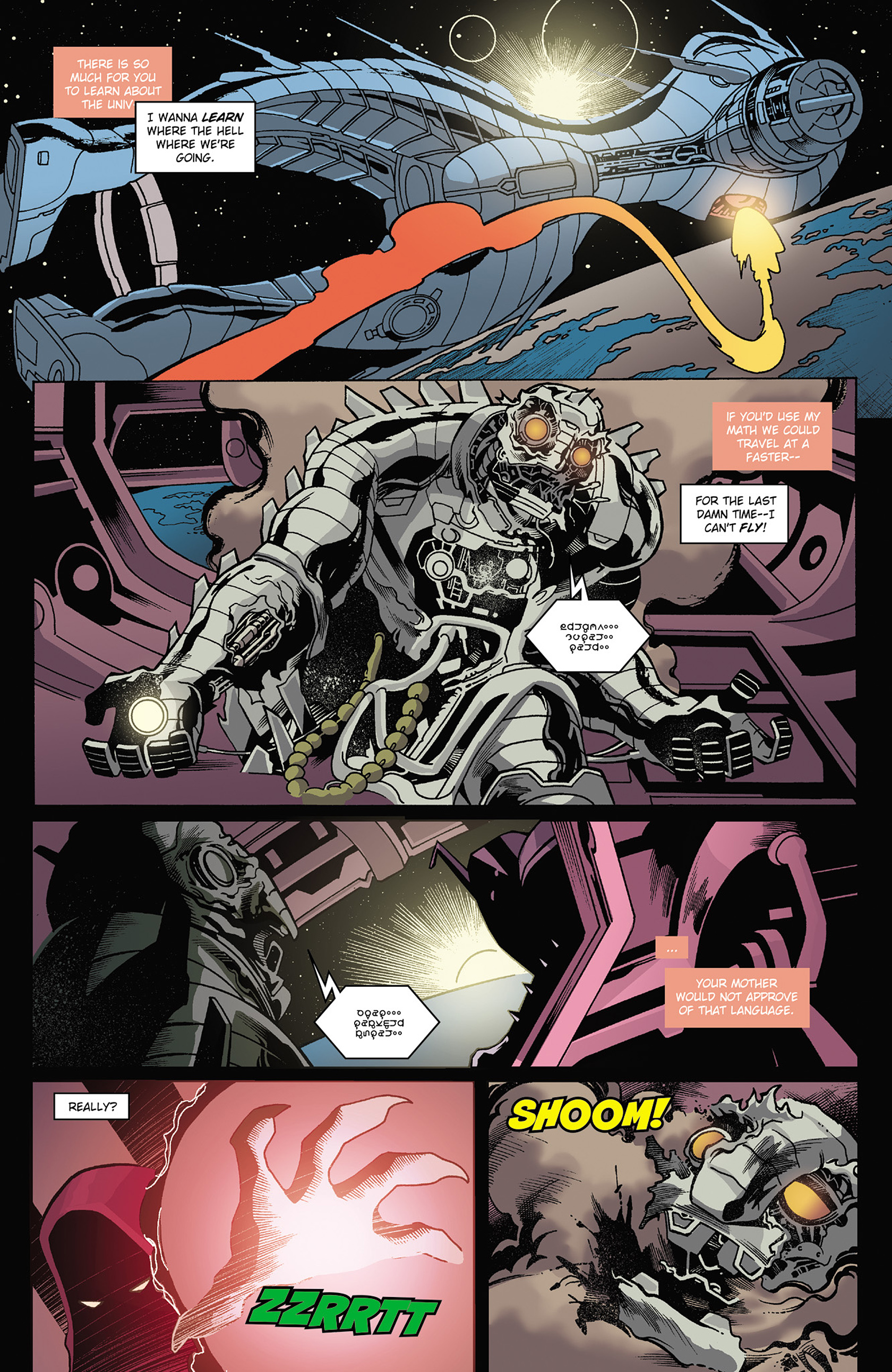 Read online Solar: Man of the Atom (2014) comic -  Issue #3 - 4