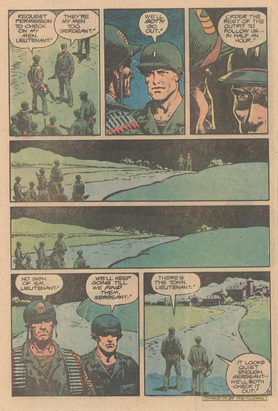 Read online Sgt. Rock comic -  Issue #356 - 9