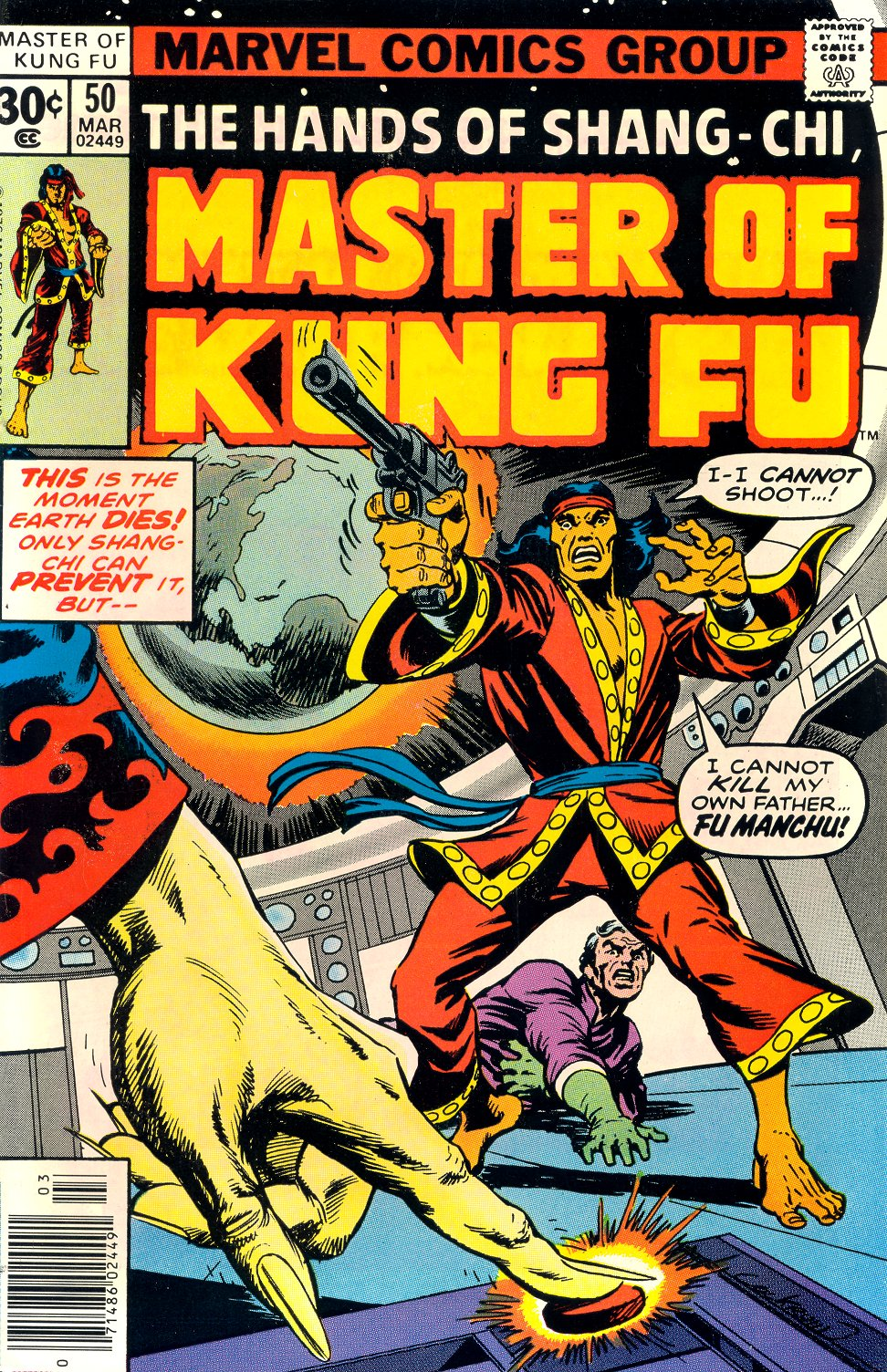 Master of Kung Fu (1974) issue 50 - Page 1
