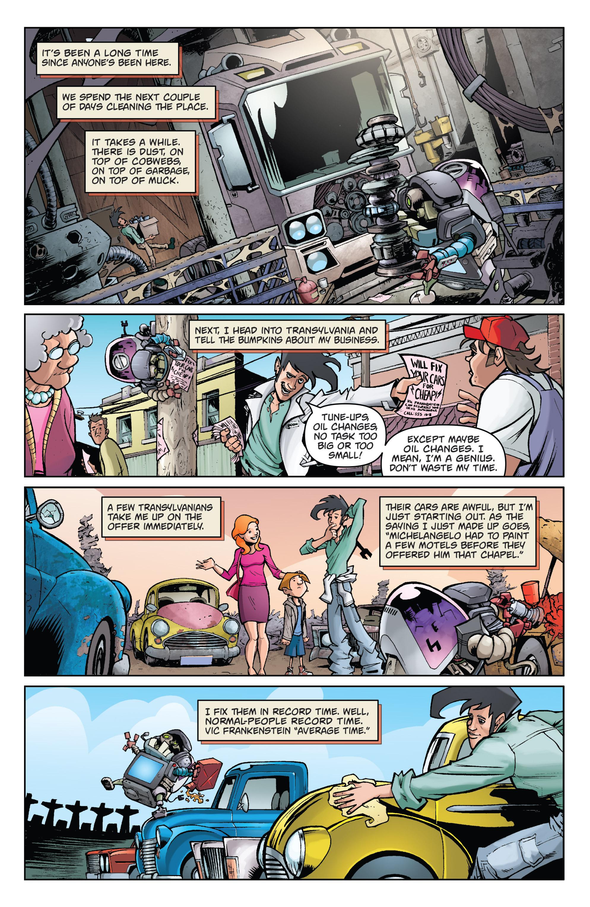 Read online Monster Motors comic -  Issue # Full - 8