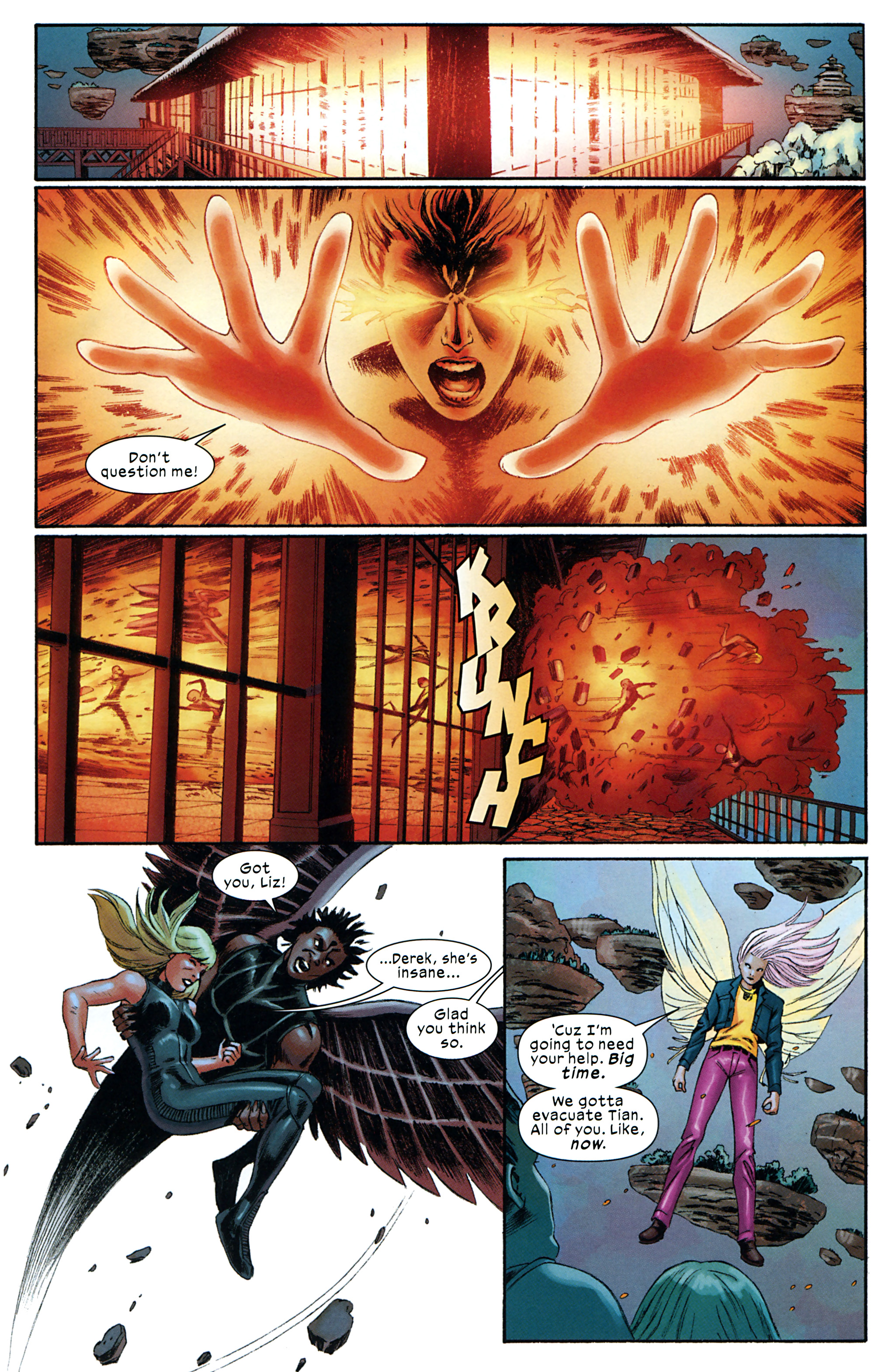 Read online Ultimate Comics X-Men comic -  Issue #32 - 22