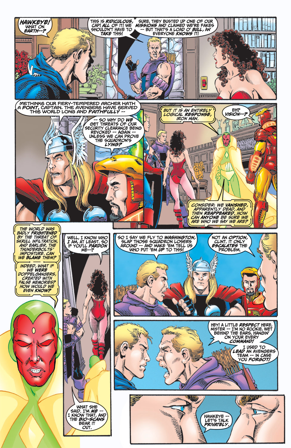 Read online Avengers (1998) comic -  Issue #6 - 4