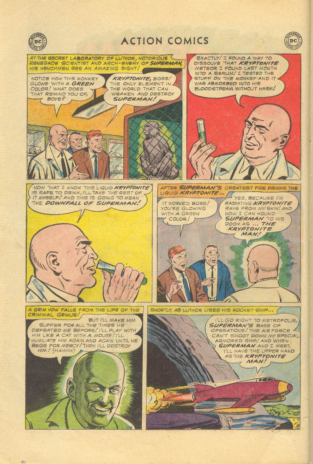 Read online Action Comics (1938) comic -  Issue #249 - 4