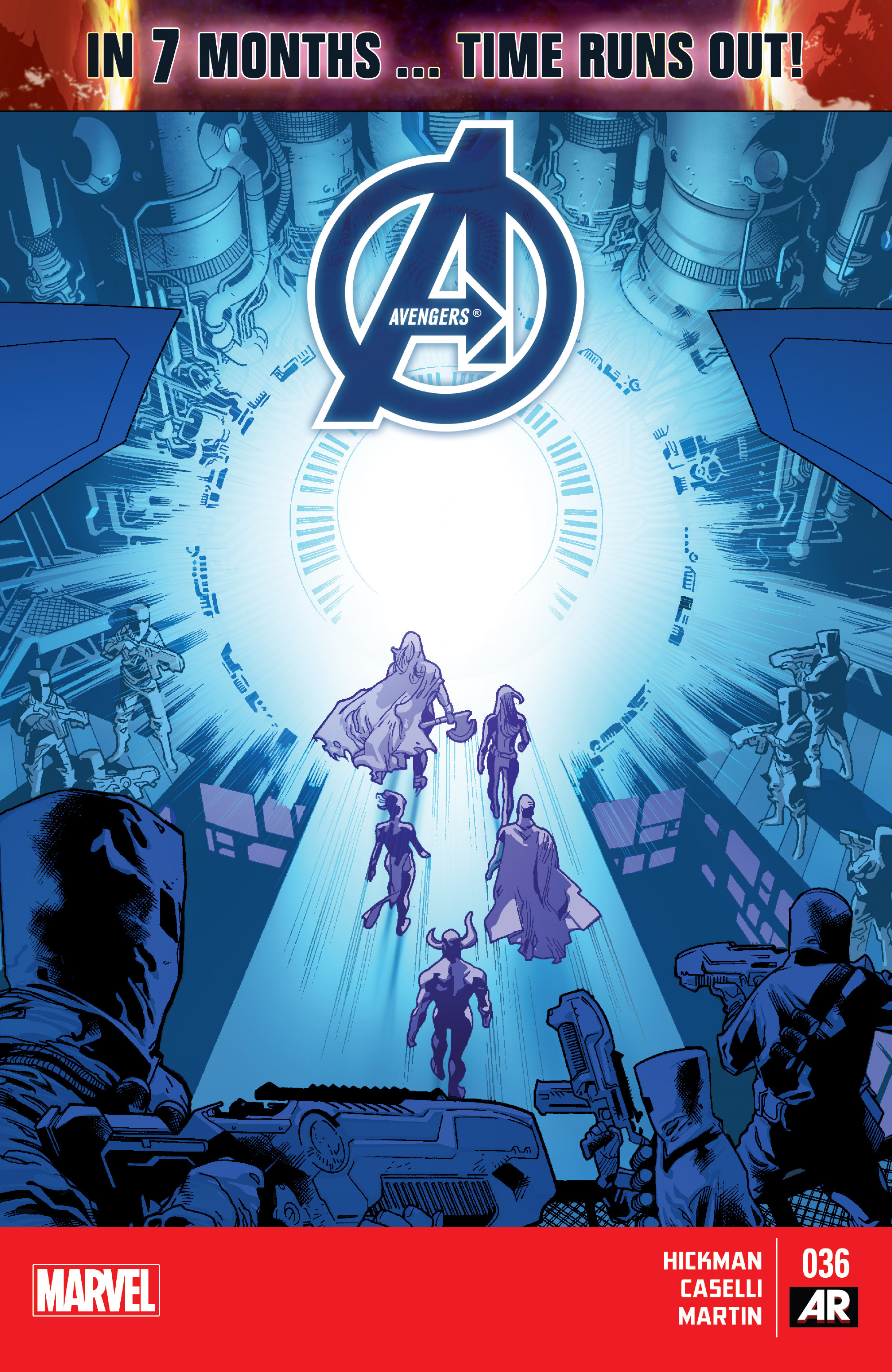 Read online Avengers (2013) comic -  Issue #36 - 1