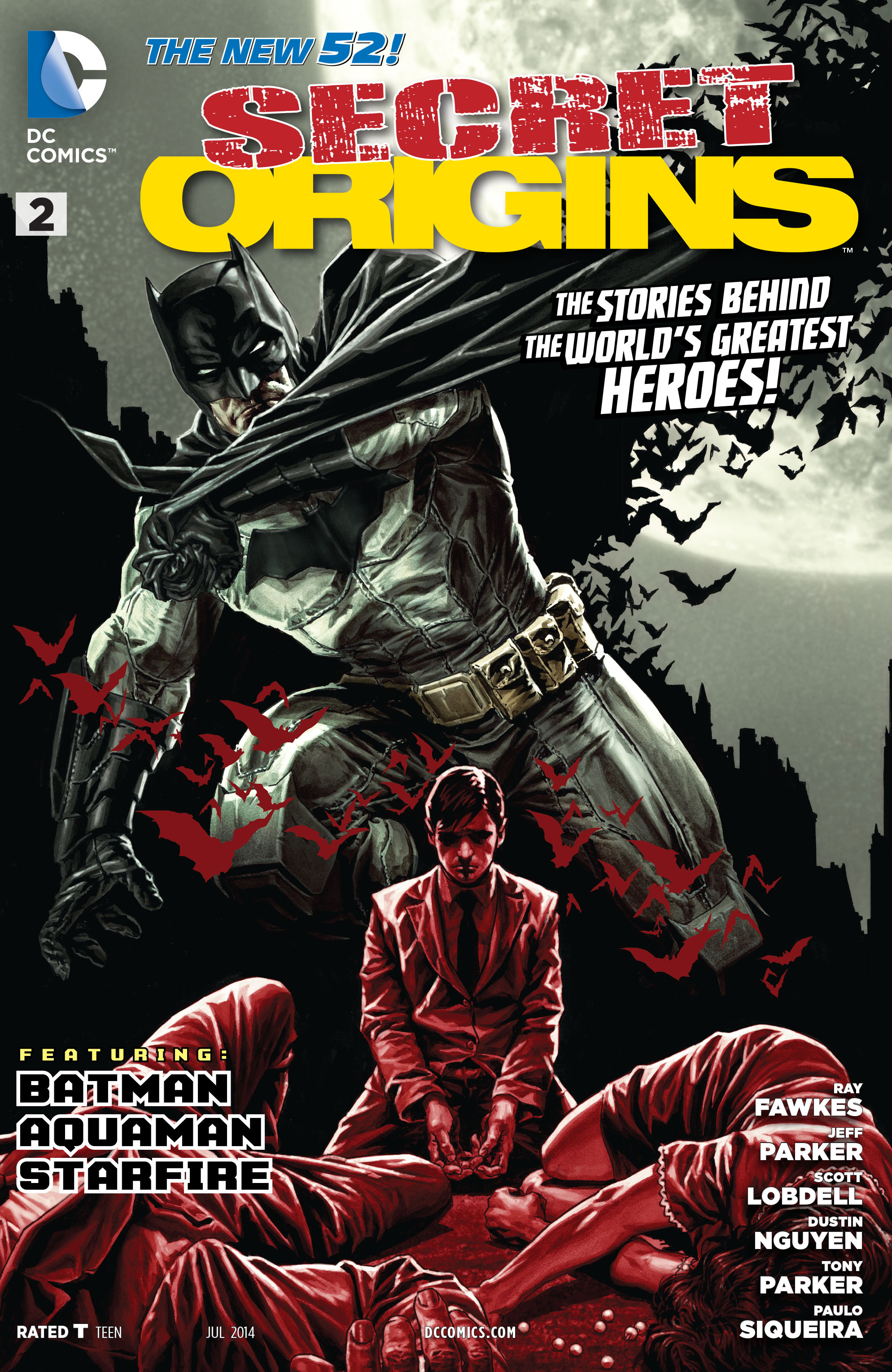 Read online Secret Origins (2014) comic -  Issue #2 - 1