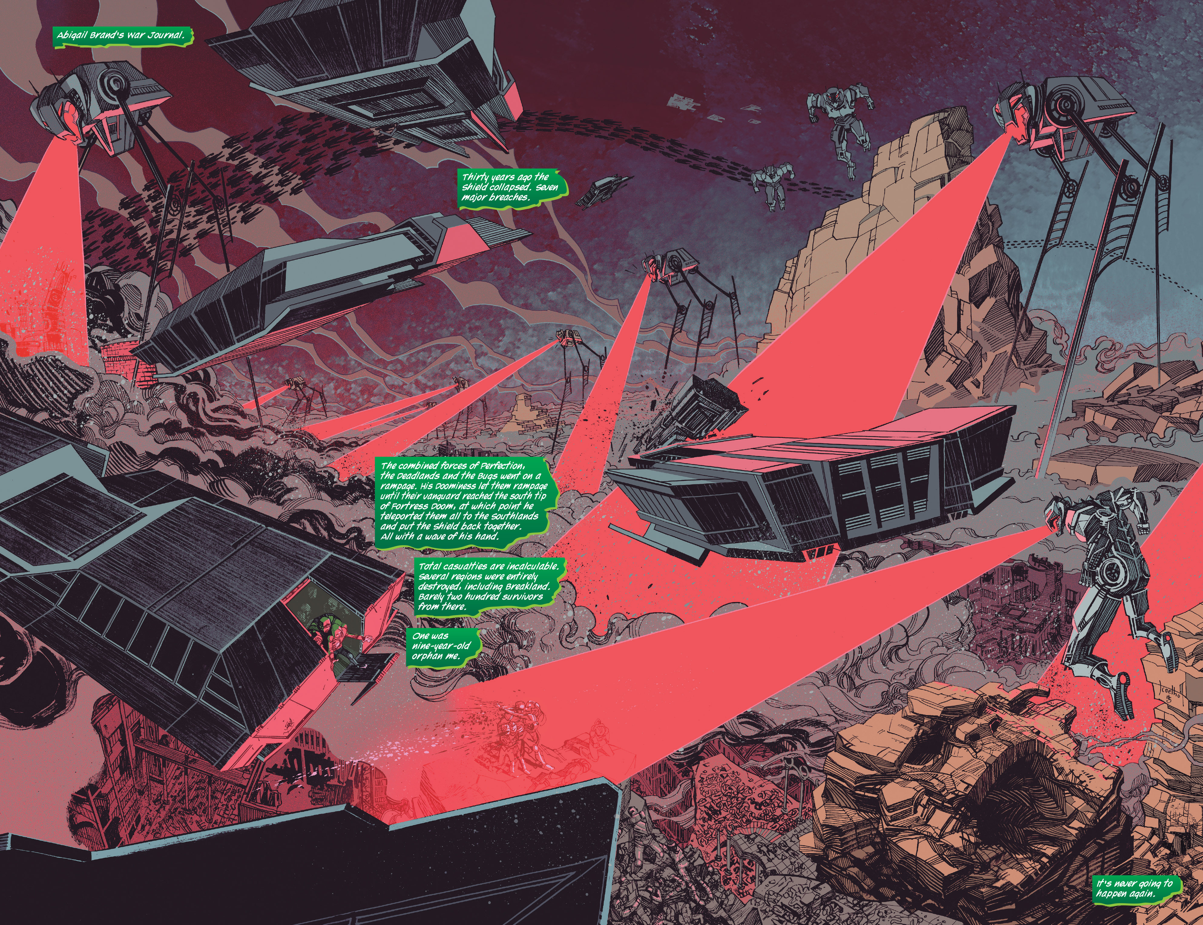 Read online Siege (2015) comic -  Issue #1 - 16