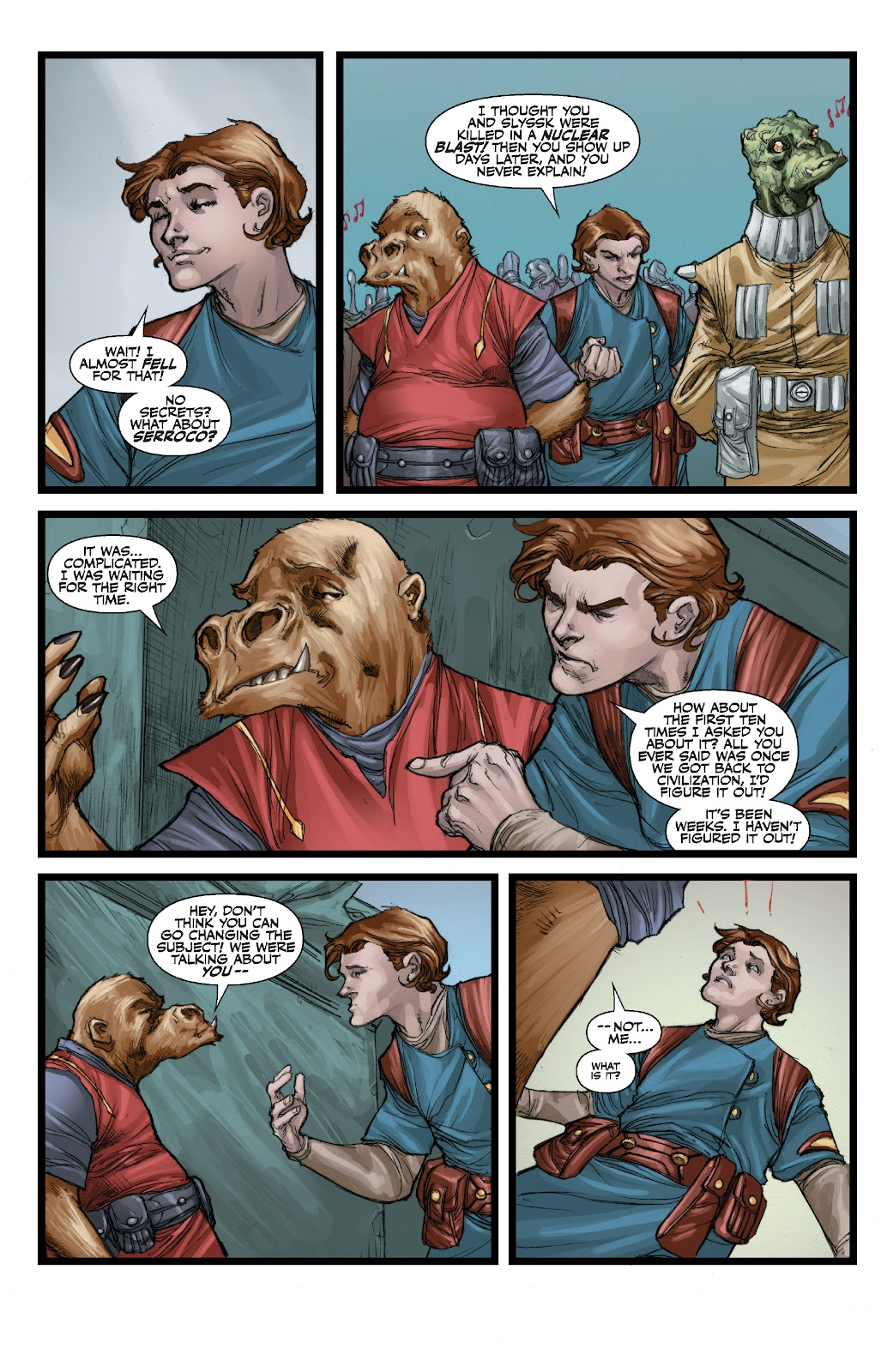 Read online Star Wars Legends: The Old Republic - Epic Collection comic -  Issue # TPB 3 (Part 3) - 18