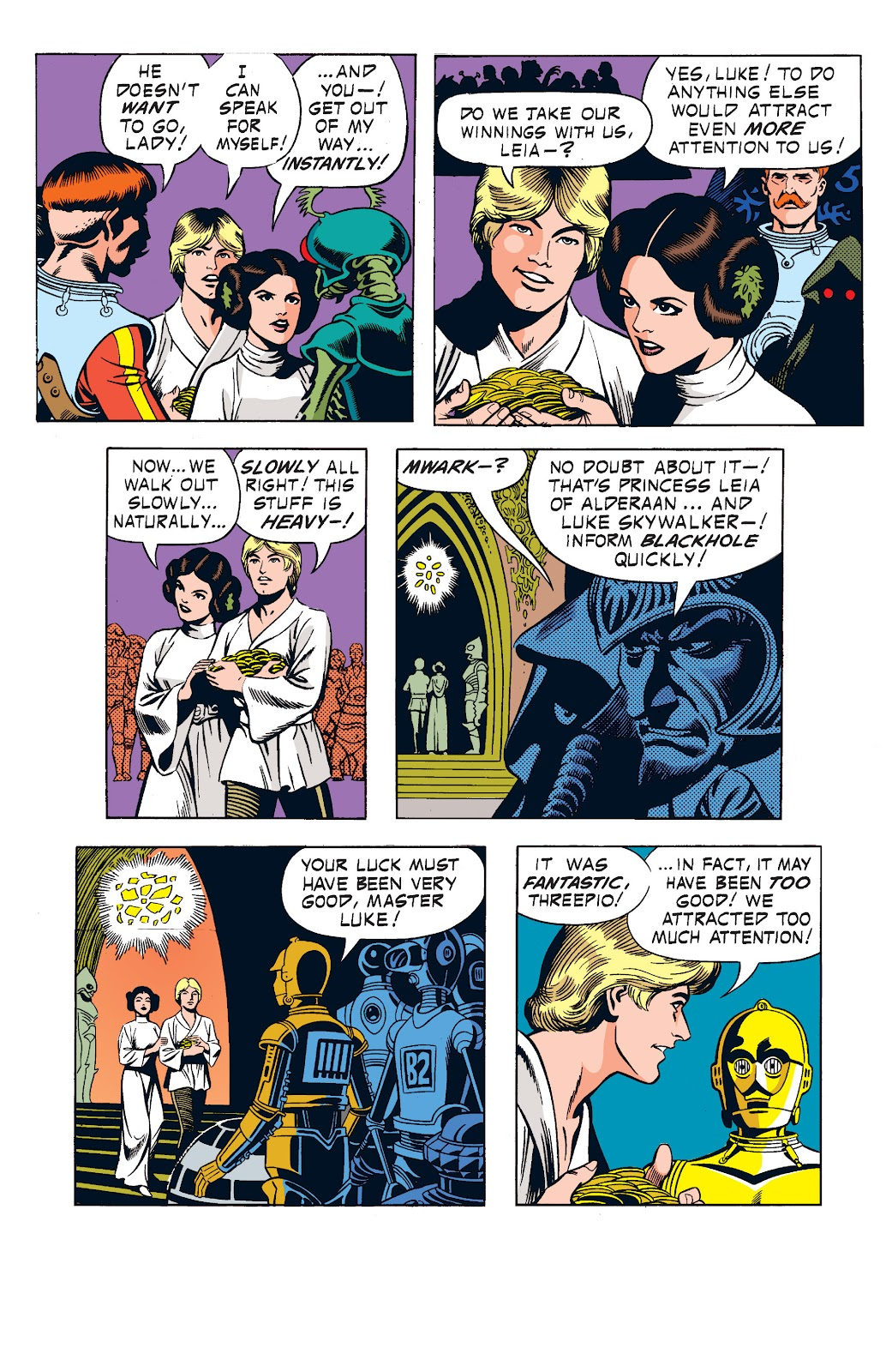 Read online Star Wars Legends: The Newspaper Strips - Epic Collection comic -  Issue # TPB (Part 1) - 48