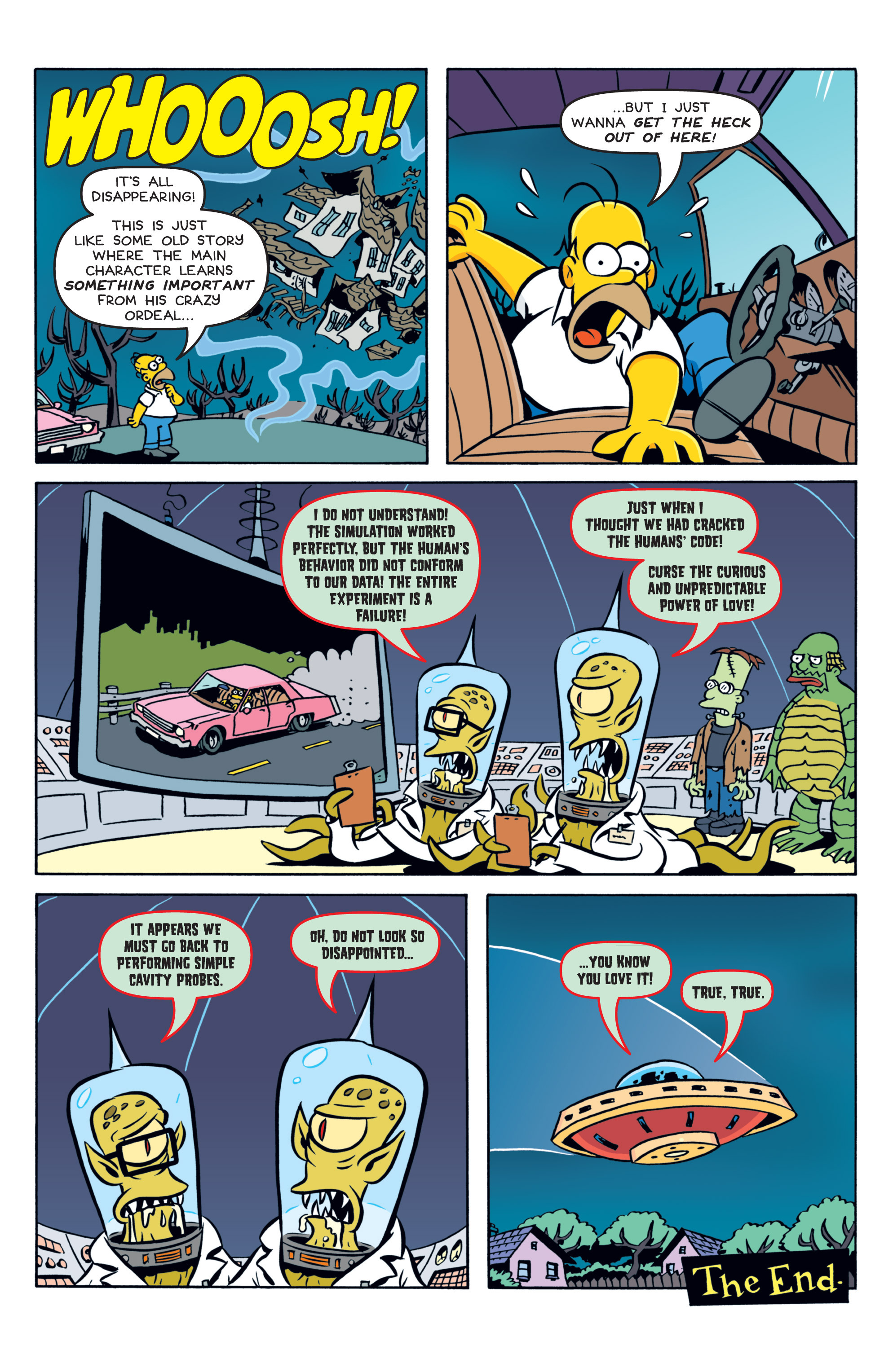 Read online Treehouse of Horror comic -  Issue #19 - 12