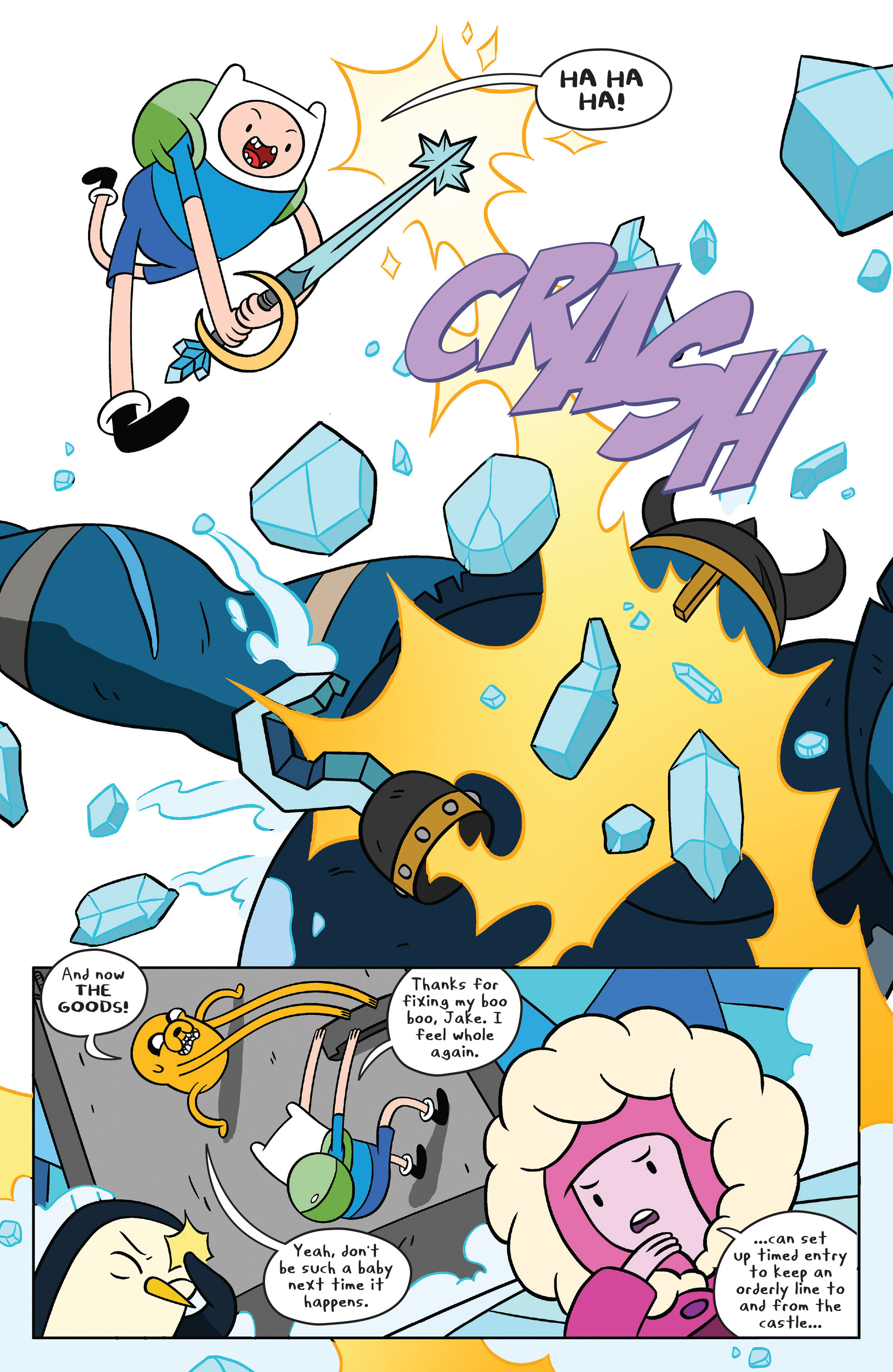 Read online Adventure Time comic -  Issue #37 - 16