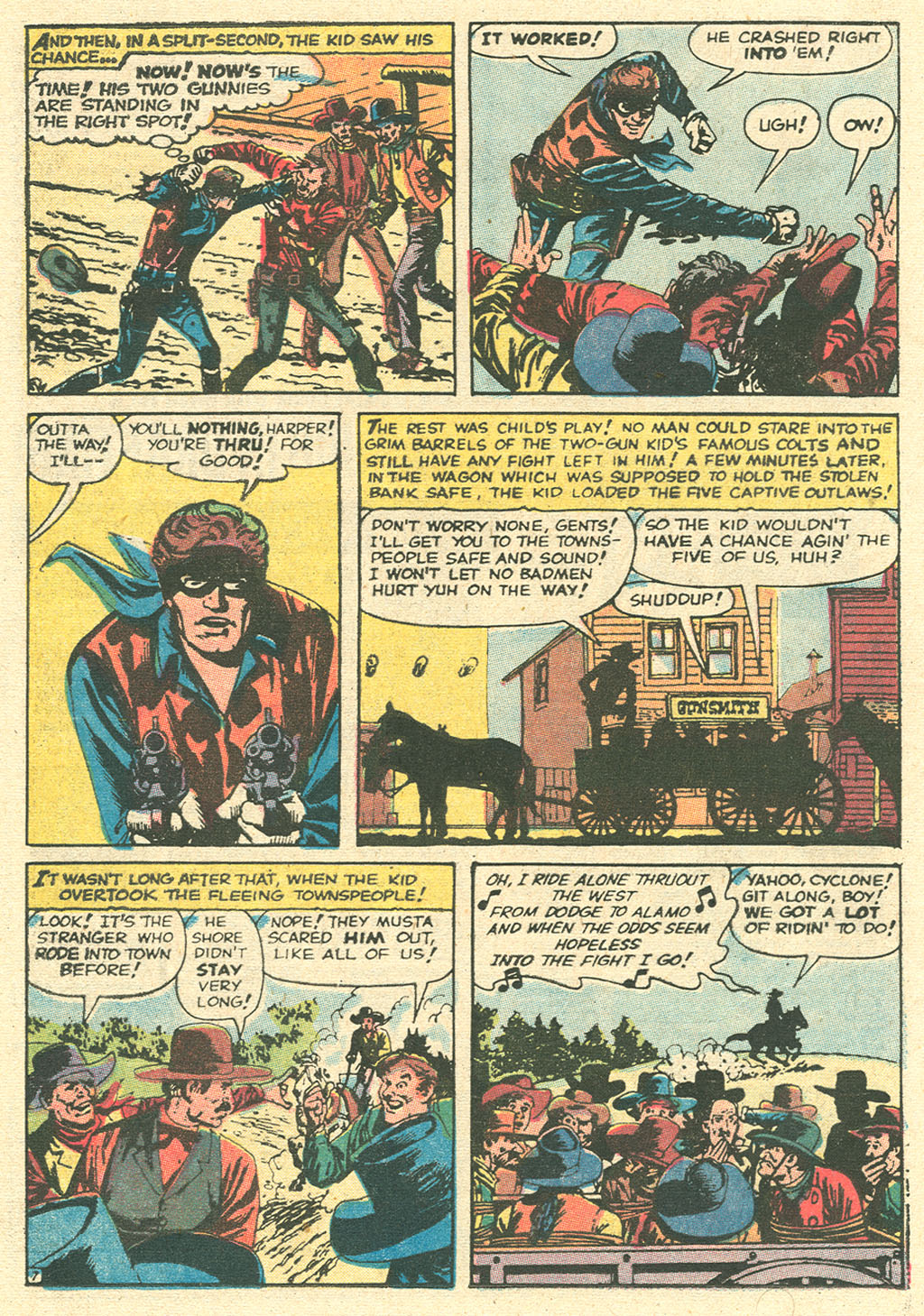 Read online Two-Gun Kid comic -  Issue #99 - 12