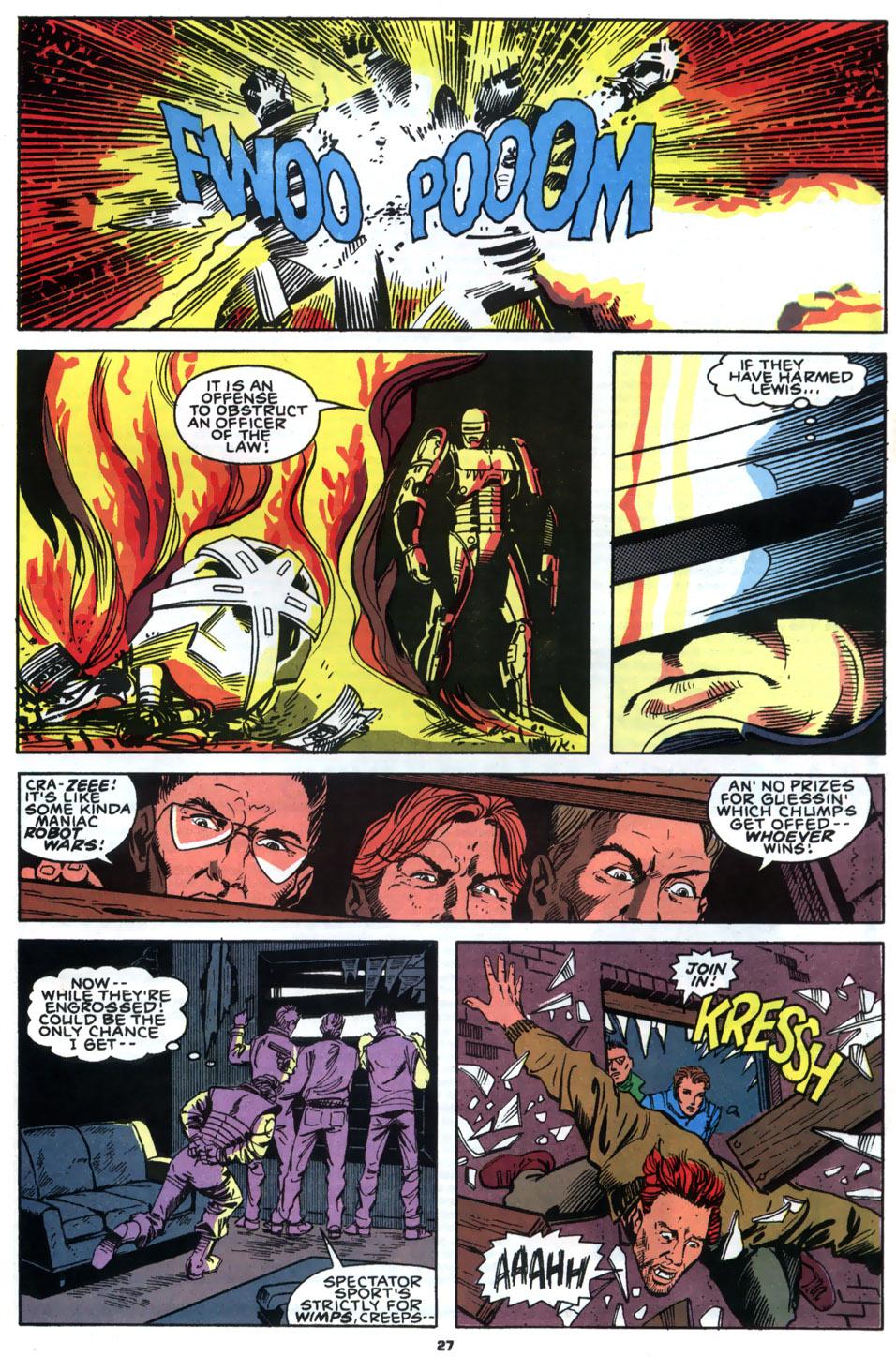 Read online Robocop (1990) comic -  Issue #2 - 22