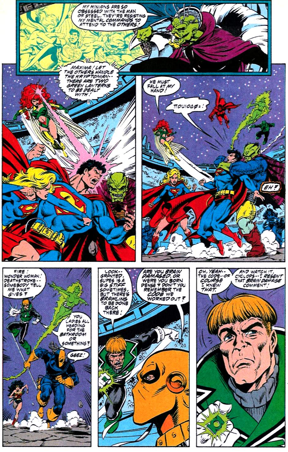 Read online Adventures of Superman (1987) comic -  Issue #488 - 20
