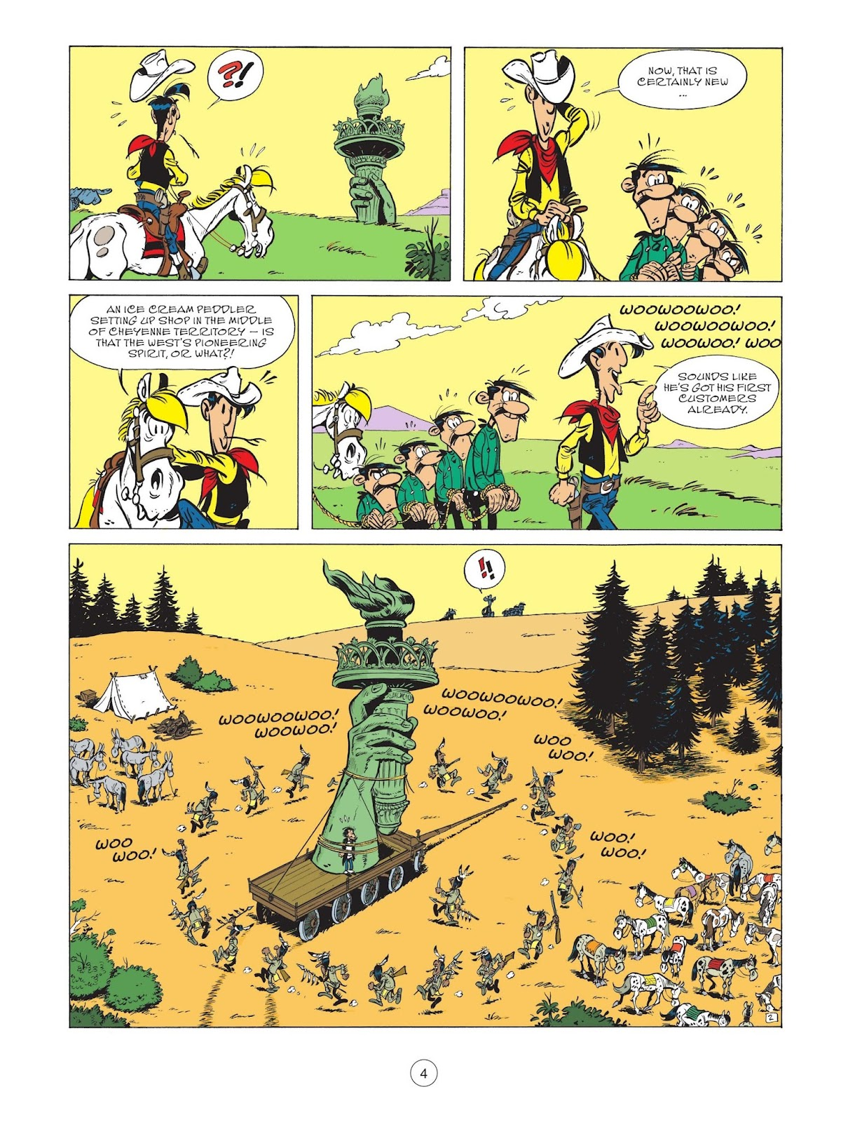 A Lucky Luke Adventure issue 71 - Page 6