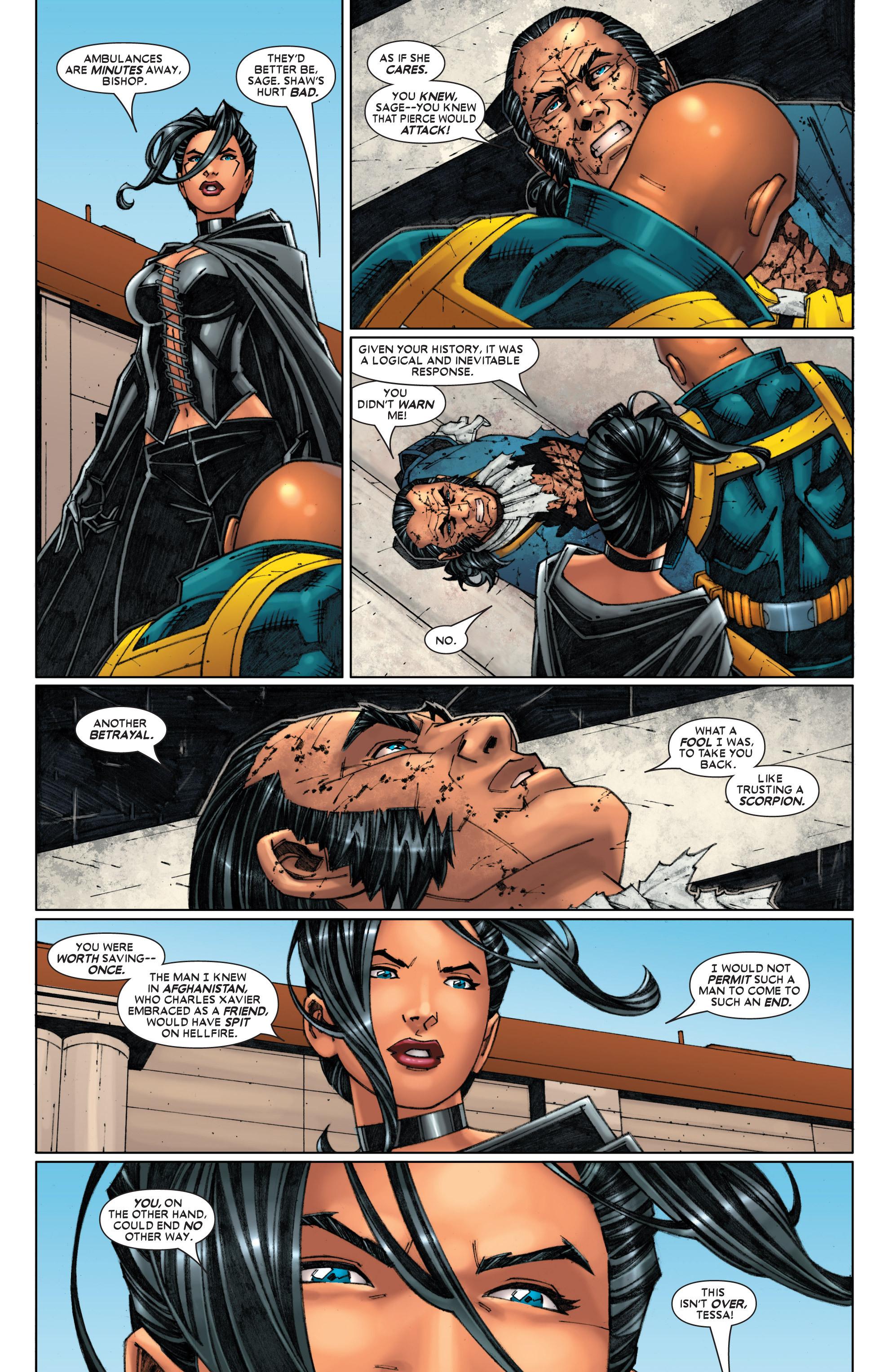 Read online Uncanny X-Men (1963) comic -  Issue #454 - 25