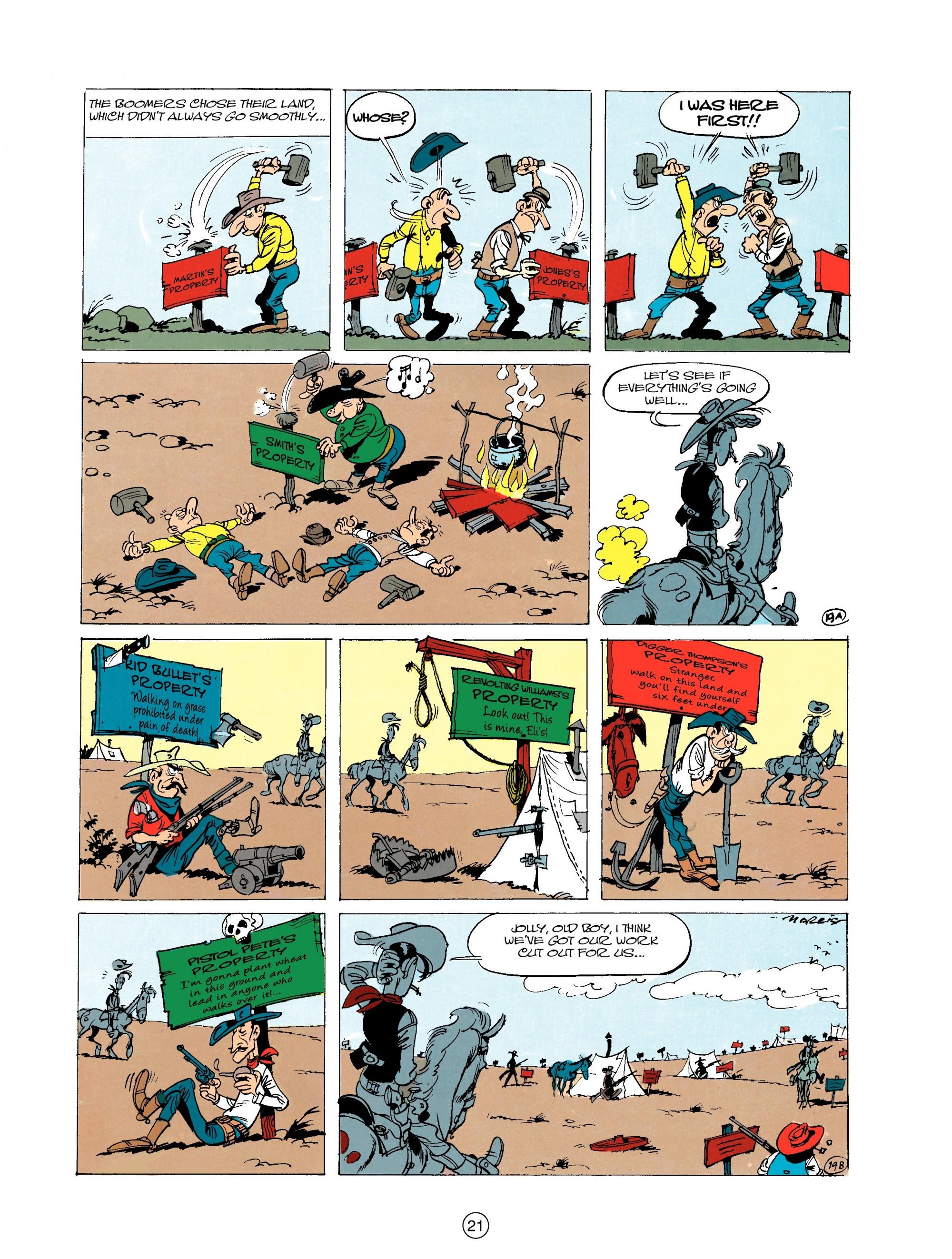 Read online A Lucky Luke Adventure comic -  Issue #20 - 21