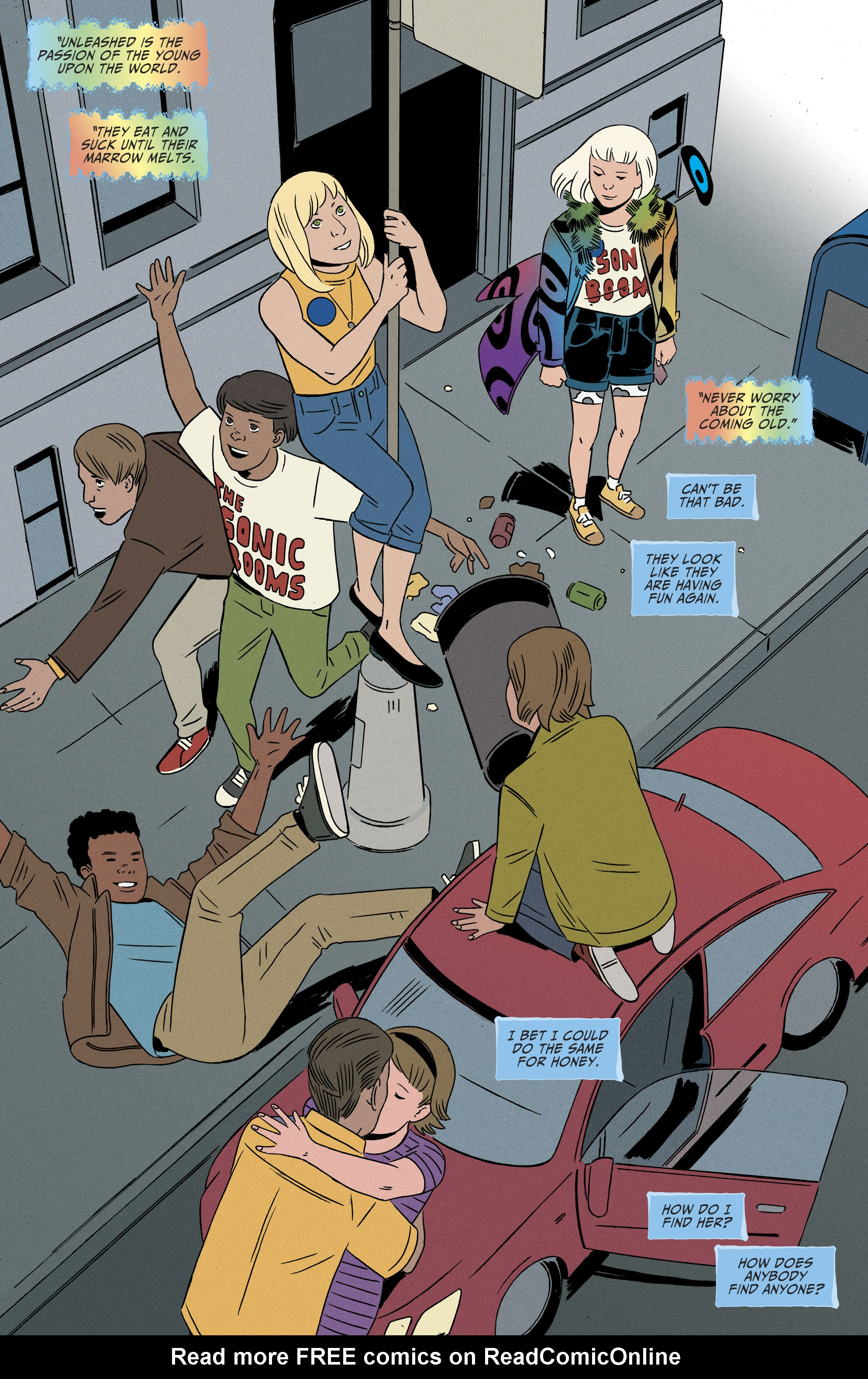 Read online Shade, the Changing Girl comic -  Issue #9 - 13
