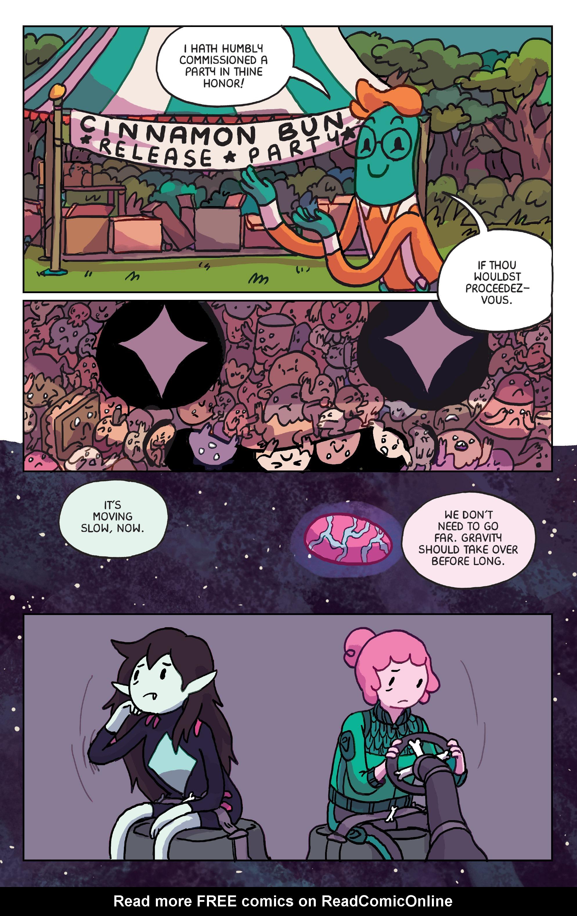 Read online Adventure Time: Marceline Gone Adrift comic -  Issue #6 - 14
