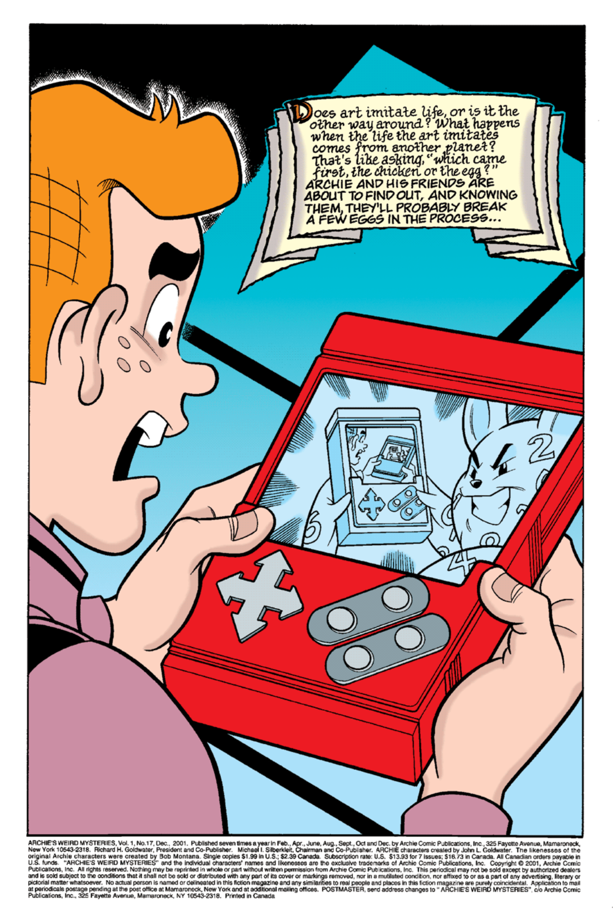 Read online Archie's Weird Mysteries comic -  Issue #17 - 2