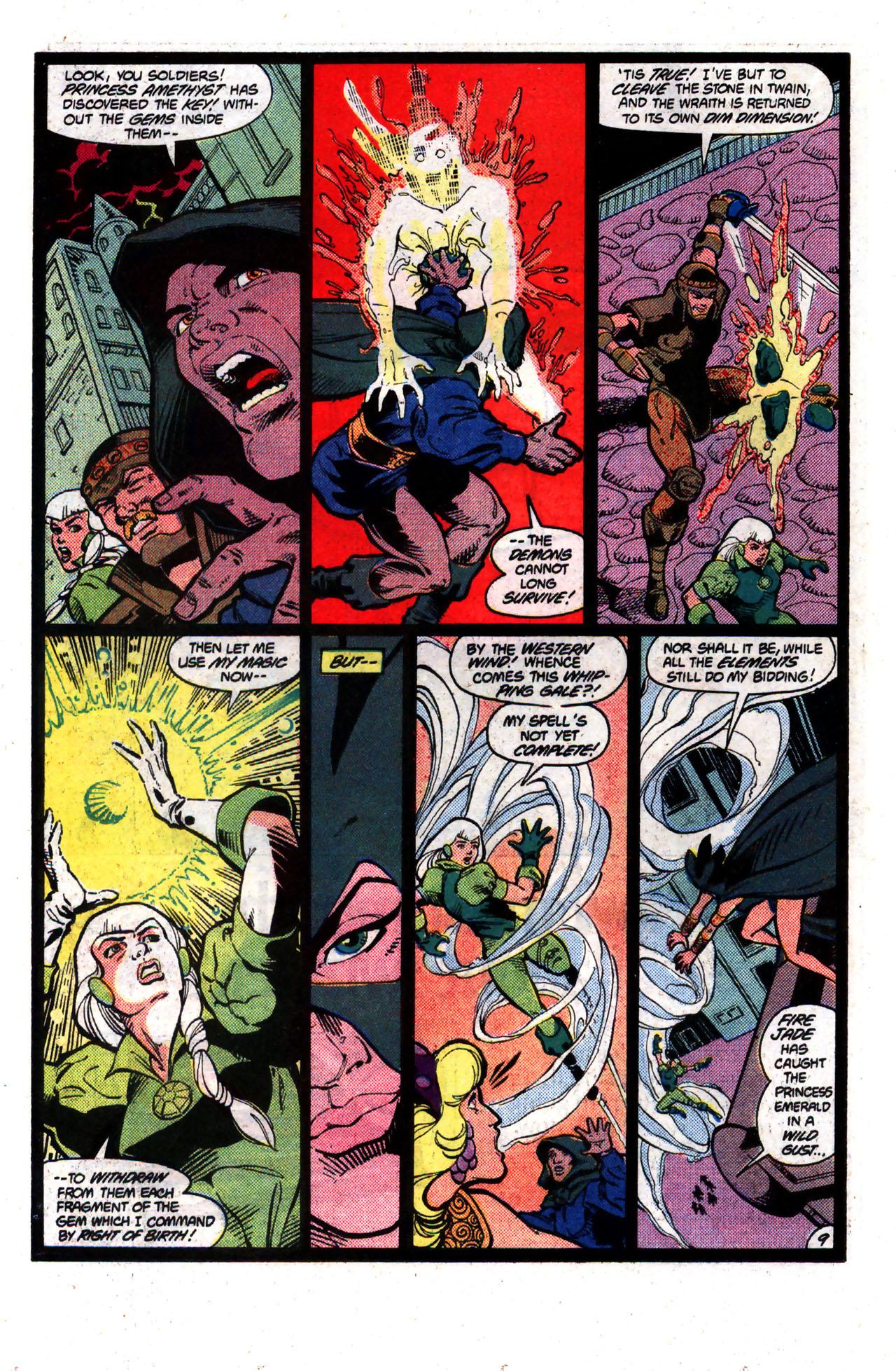 Read online Amethyst (1985) comic -  Issue #8 - 9