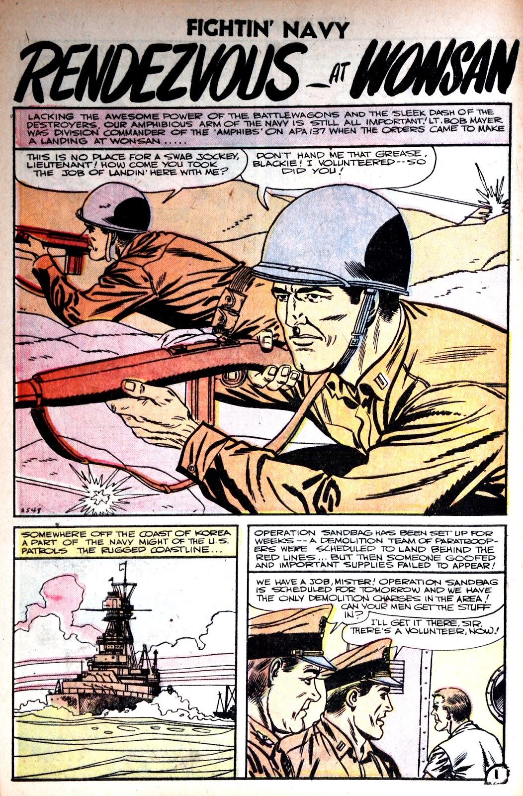 Read online Fightin' Navy comic -  Issue #75 - 28