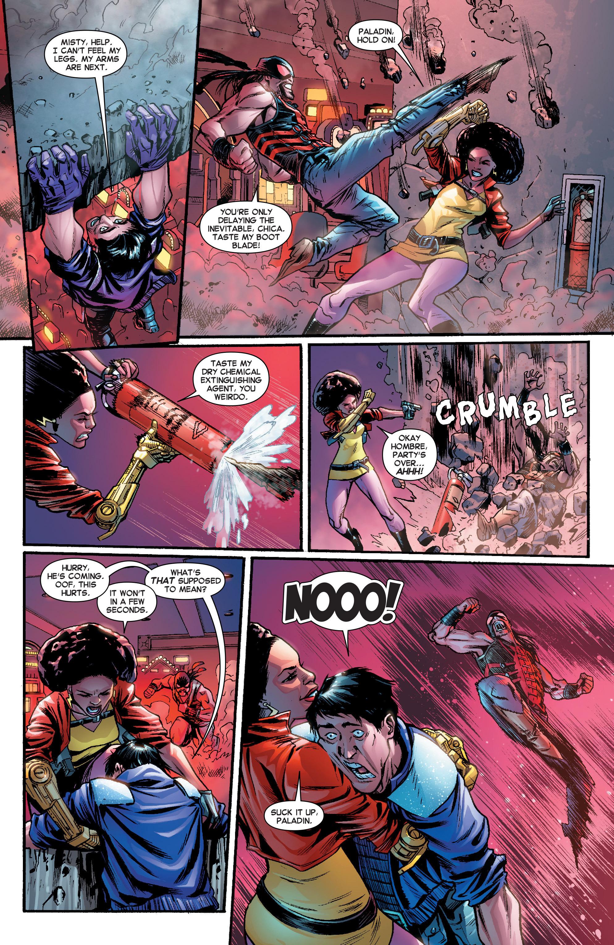 Read online Secret Wars Journal comic -  Issue #2 - 10