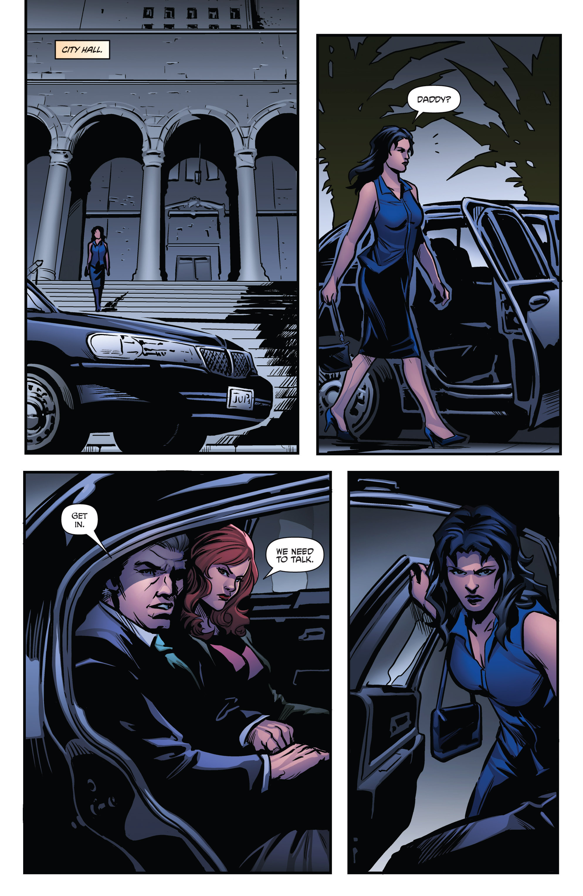 Read online Grimm Fairy Tales presents Goddess Inc. comic -  Issue #4 - 15