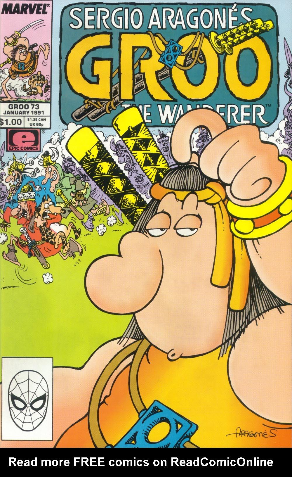 Read online Sergio Aragonés Groo the Wanderer comic -  Issue #73 - 1