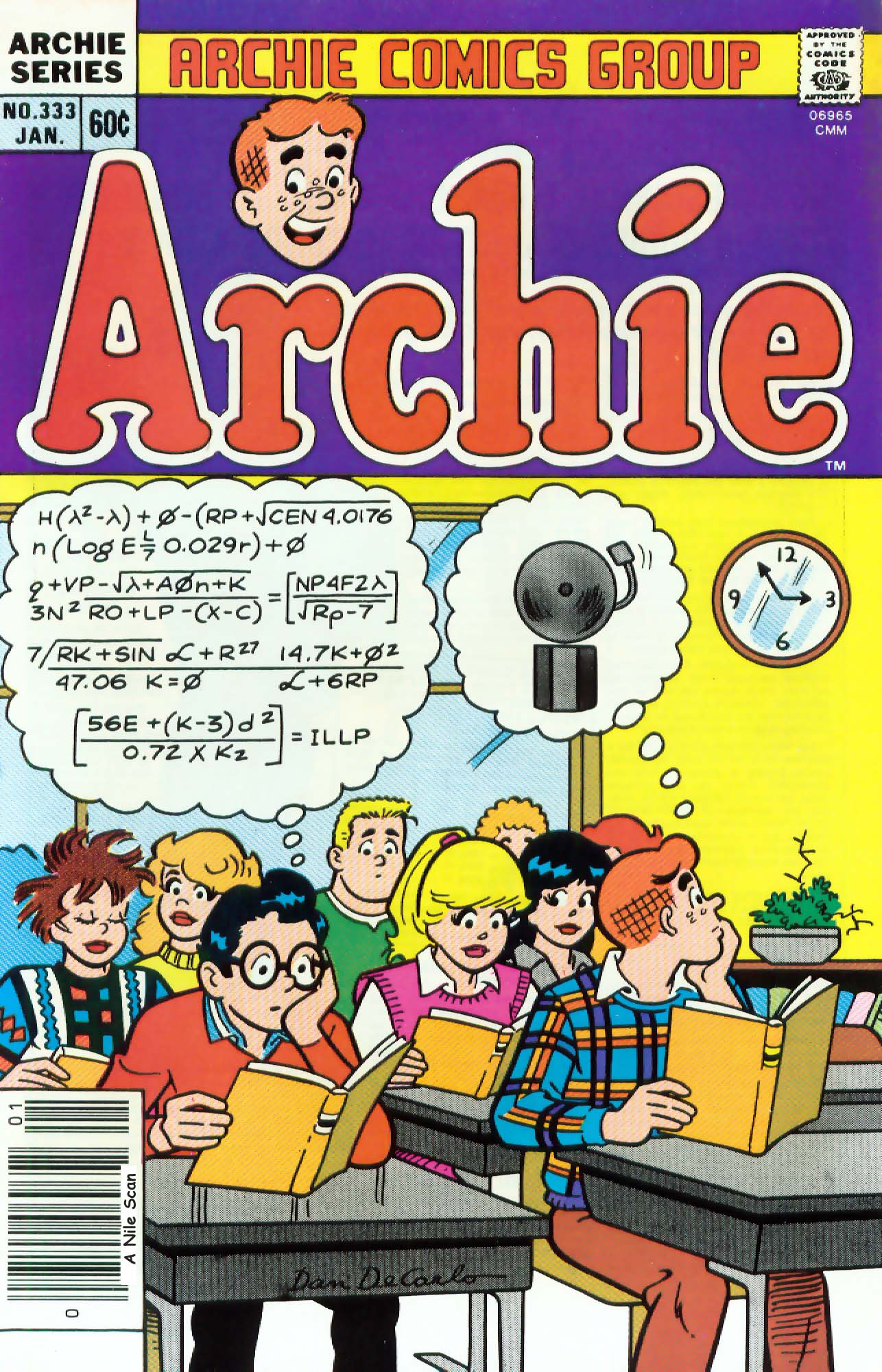 Read online Archie (1960) comic -  Issue #333 - 1