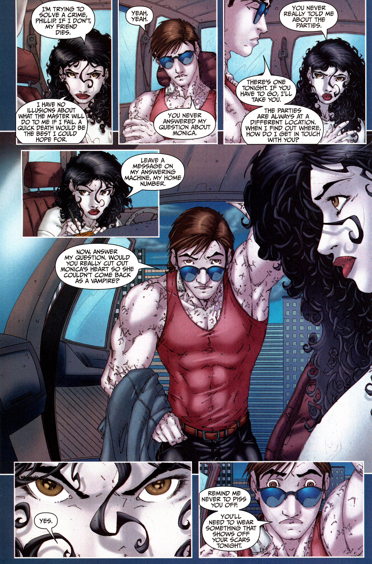 Read online Anita Blake, Vampire Hunter: Guilty Pleasures comic -  Issue #5 - 22