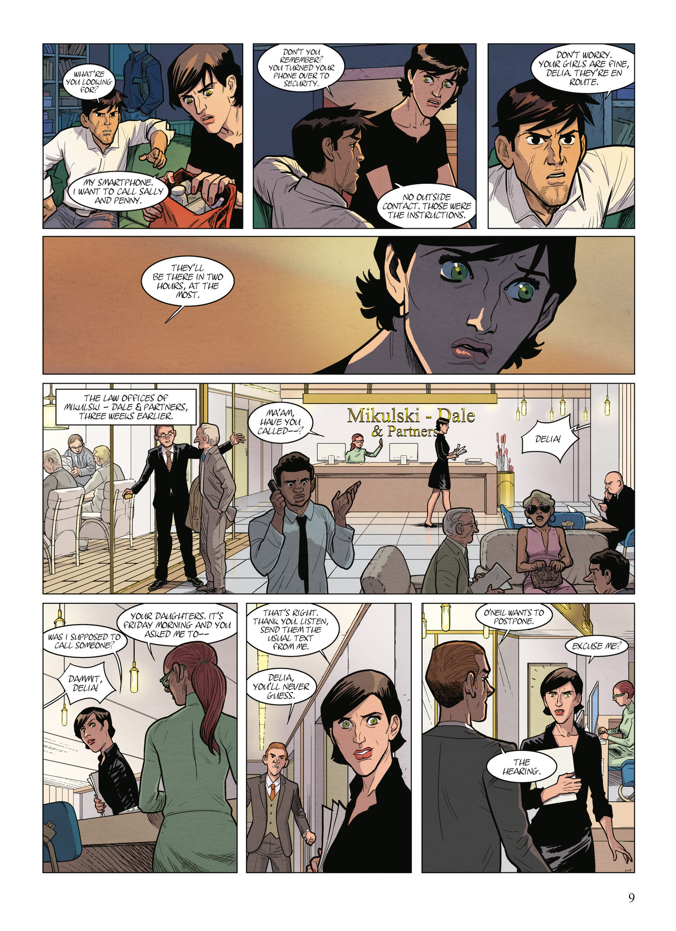 Read online Alter Ego comic -  Issue #9 - 11