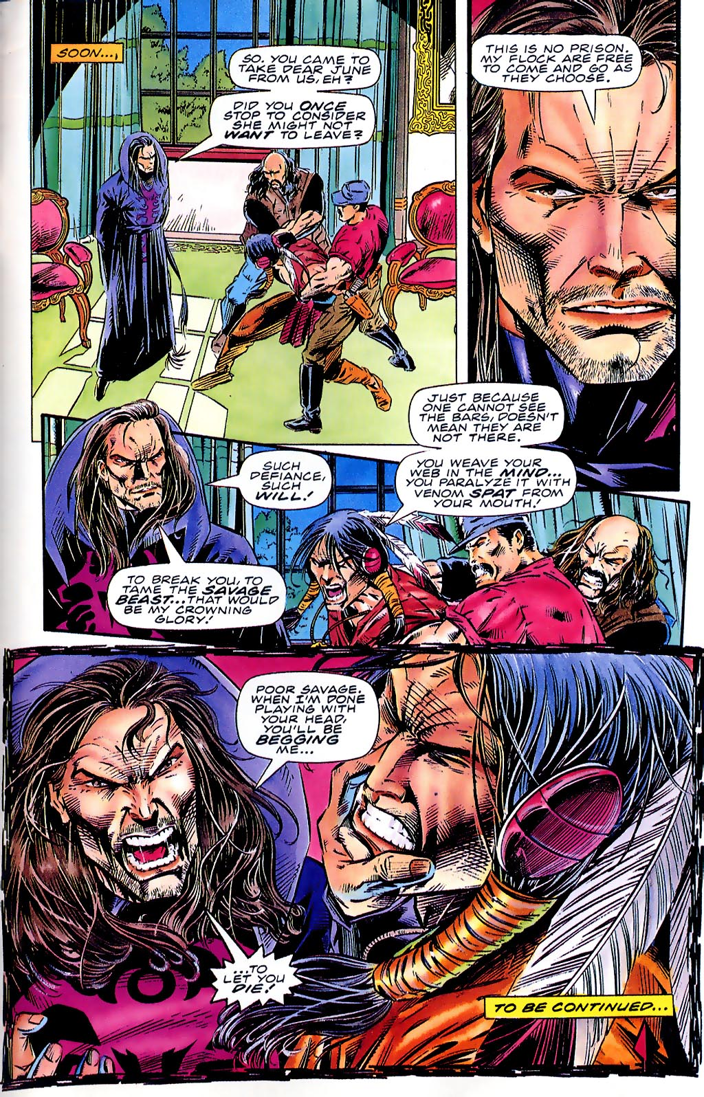Read online Turok, Dinosaur Hunter (1993) comic -  Issue #41 - 22