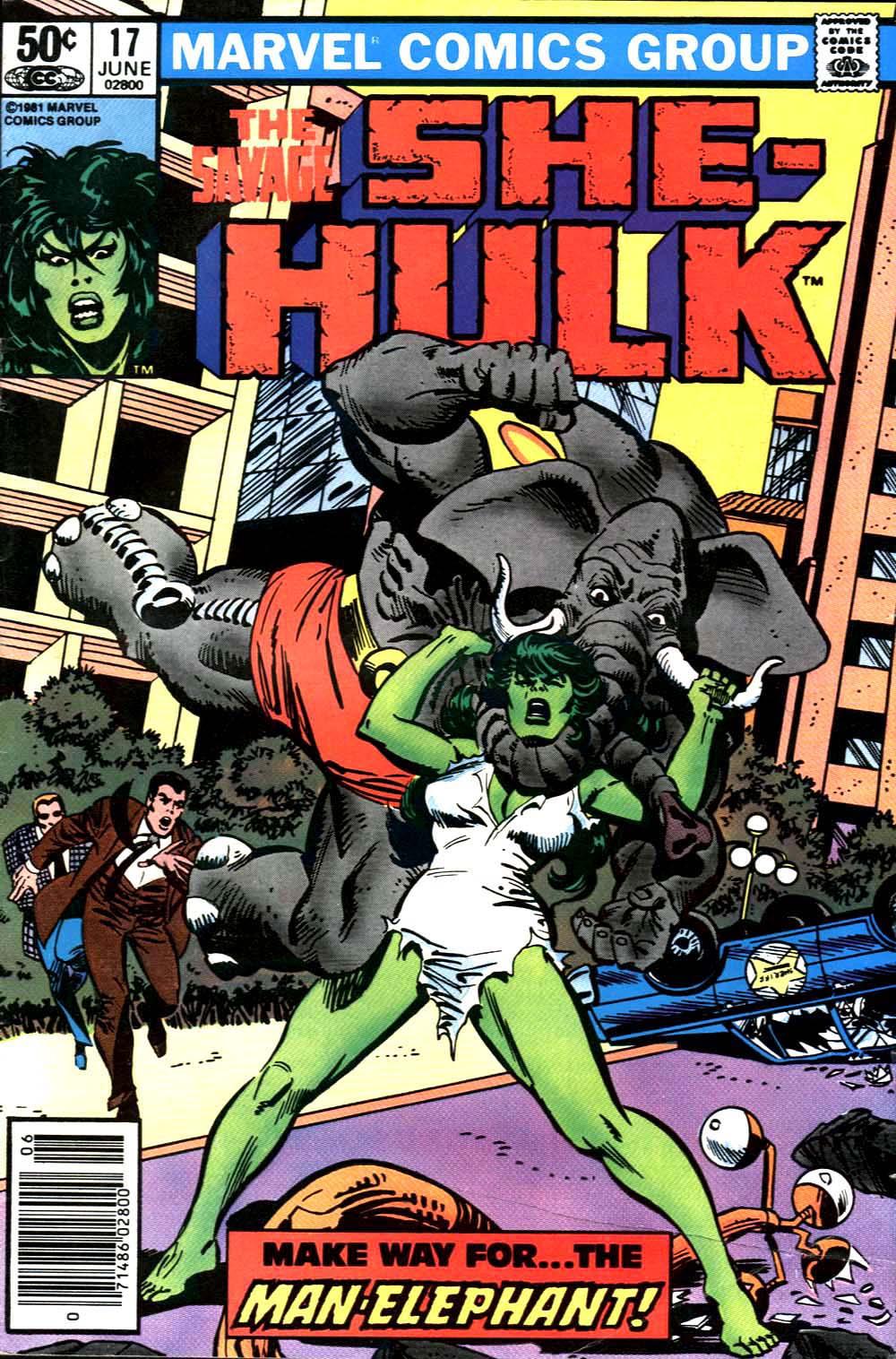 The Savage She-Hulk 17 Page 1