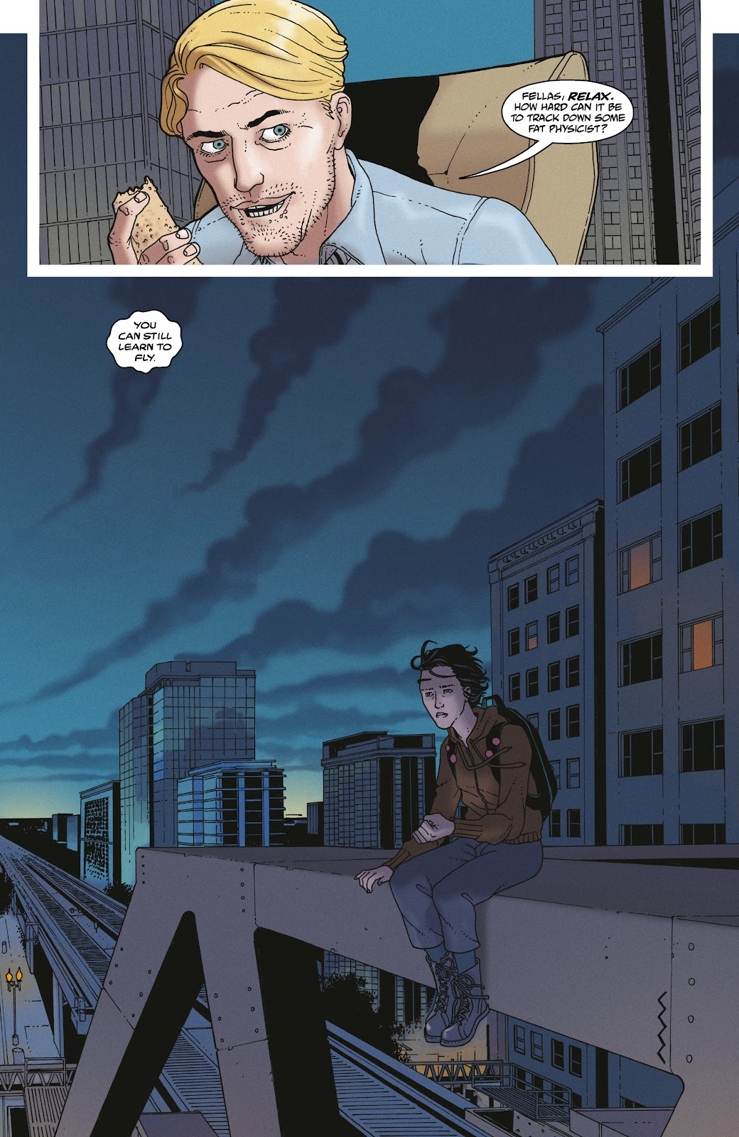 Read online She Could Fly comic -  Issue # _TPB - 39