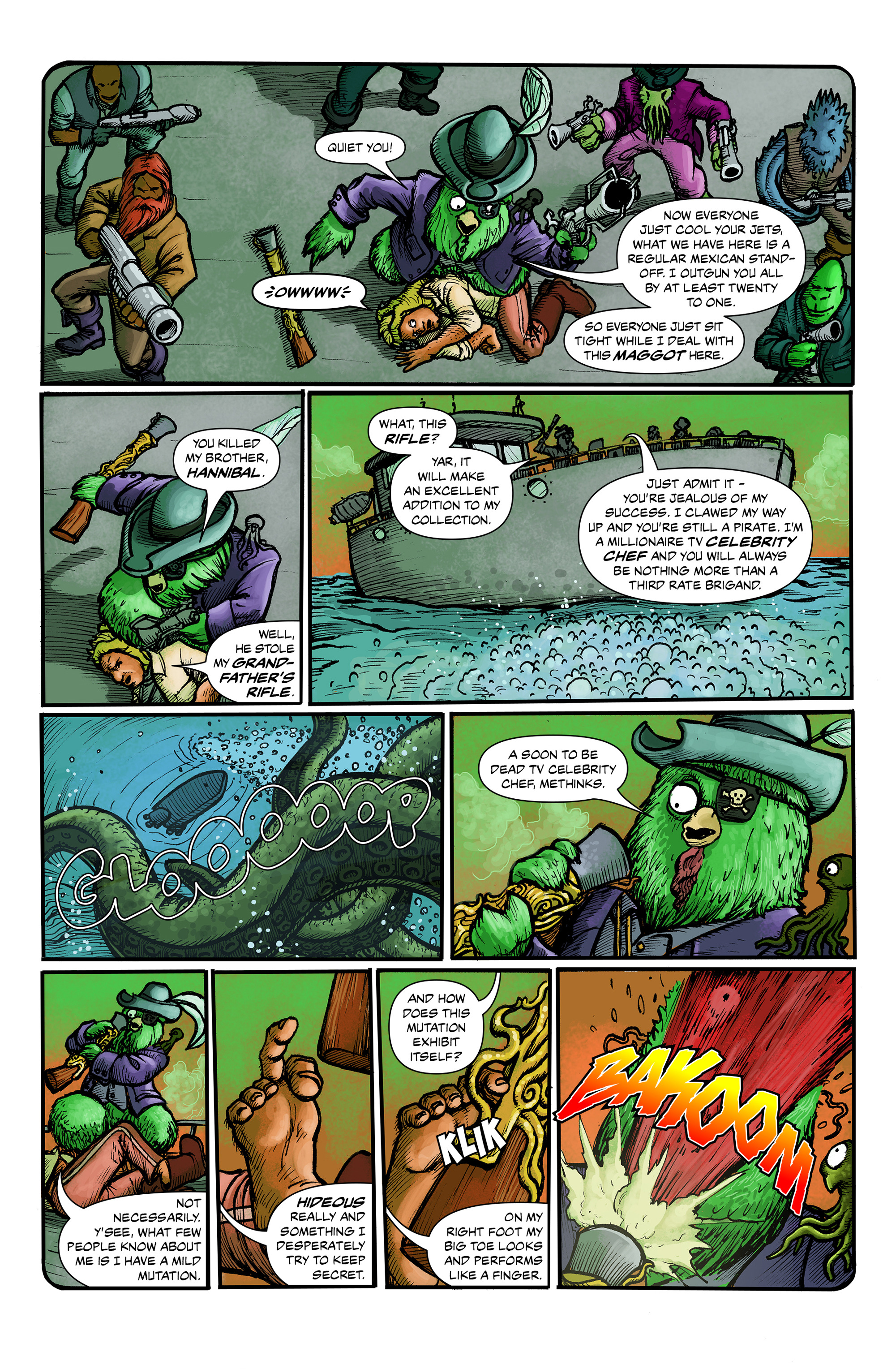 Read online 100% Biodegradable comic -  Issue #12 - 4