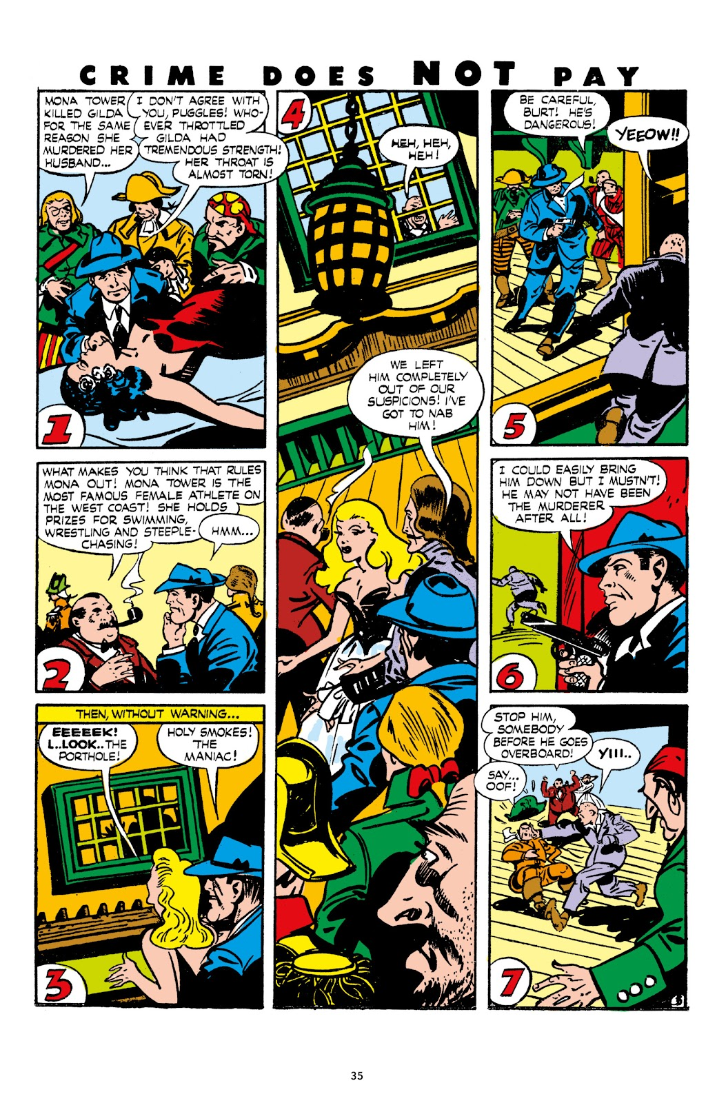 Read online Crime Does Not Pay Archives comic -  Issue # TPB 7 (Part 1) - 37