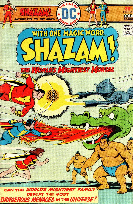 Read online Shazam! (1973) comic -  Issue #20 - 1