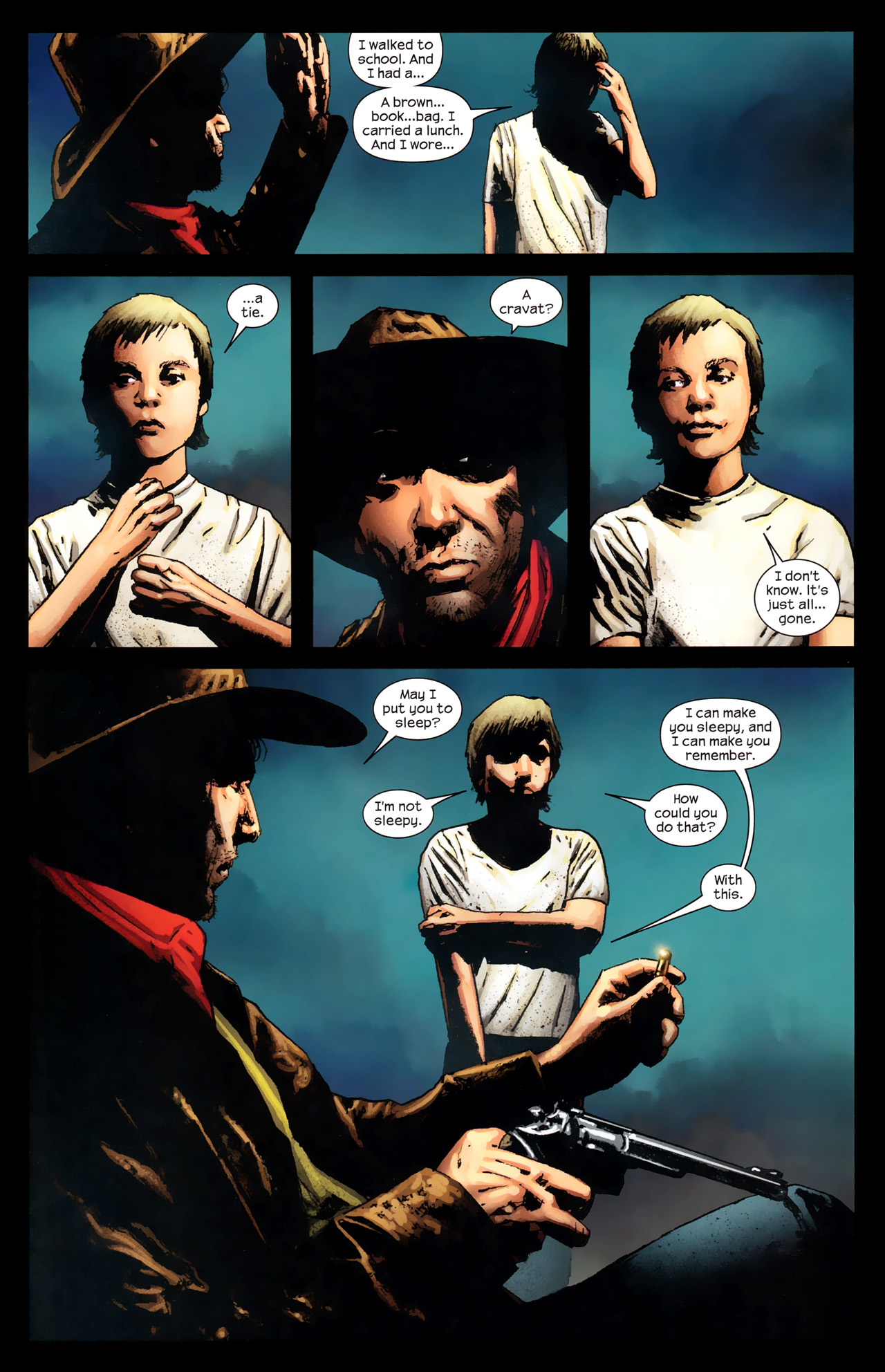 Read online Dark Tower: The Gunslinger - The Way Station comic -  Issue #2 - 11