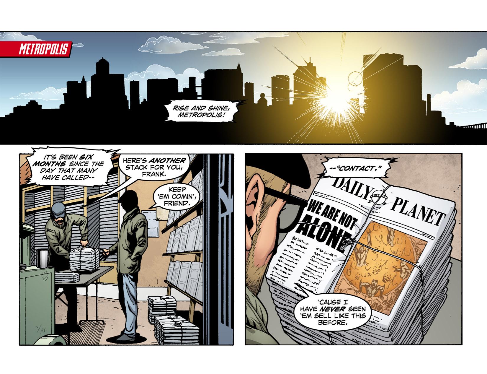 Read online Smallville: Season 11 comic -  Issue #1 - 3