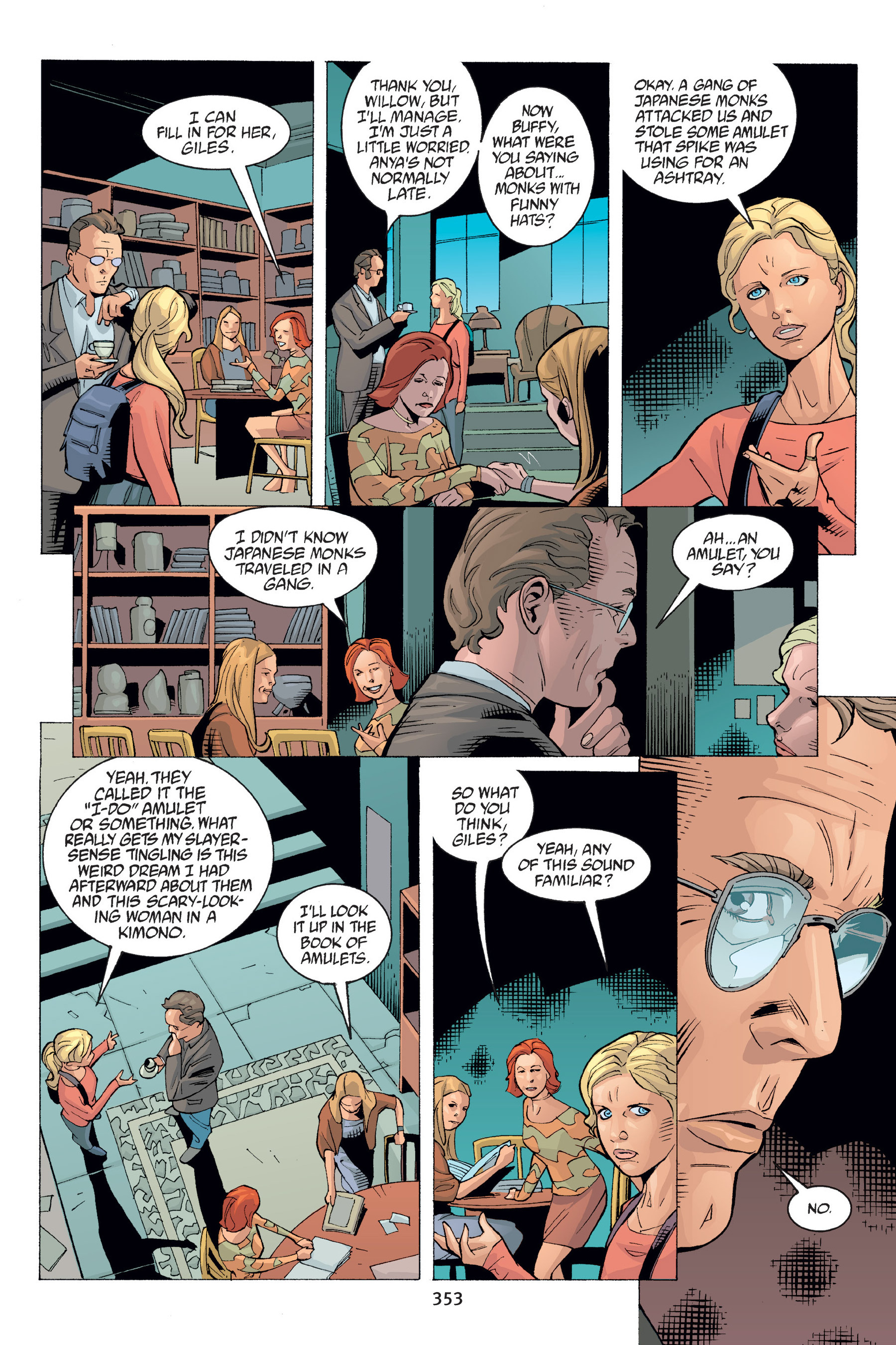 Read online Buffy the Vampire Slayer: Omnibus comic -  Issue # TPB 6 - 349