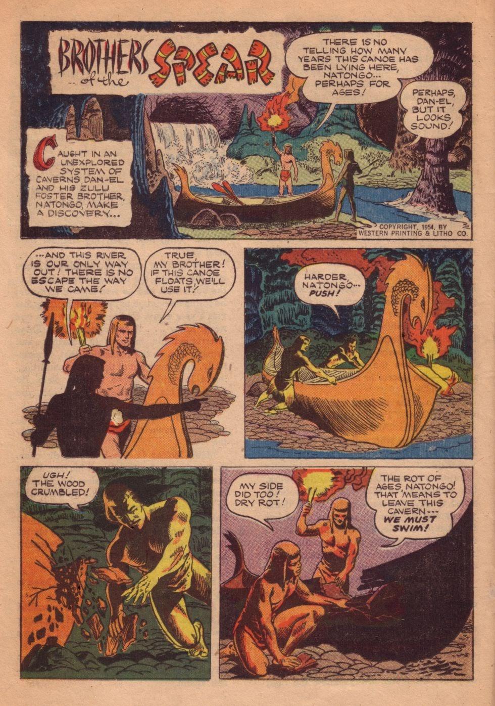 Tarzan (1948) issue 55 - Page 44