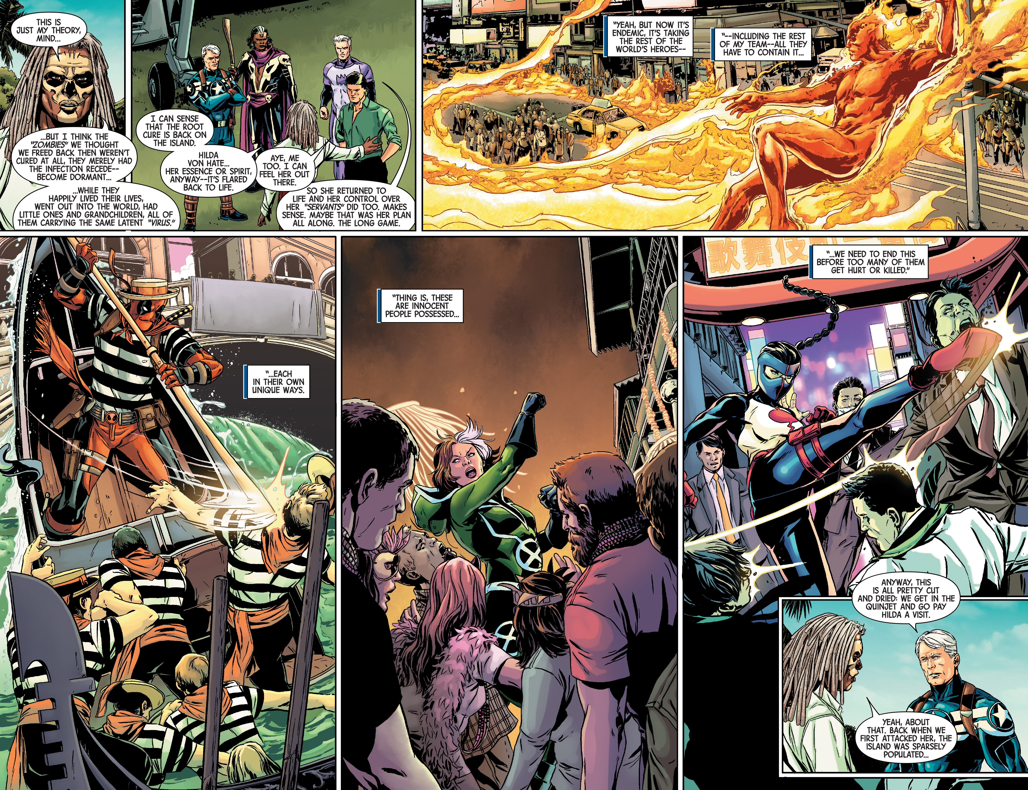 Read online Uncanny Avengers [II] comic -  Issue # _Annual 1 - 13