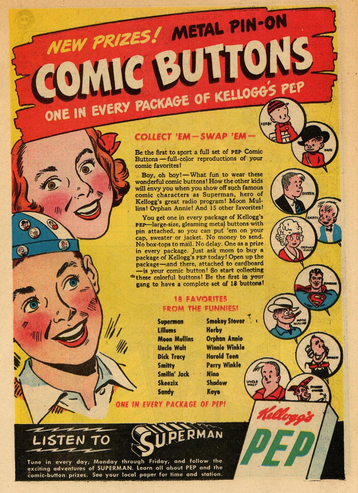 Read online Sensation (Mystery) Comics comic -  Issue #51 - 23