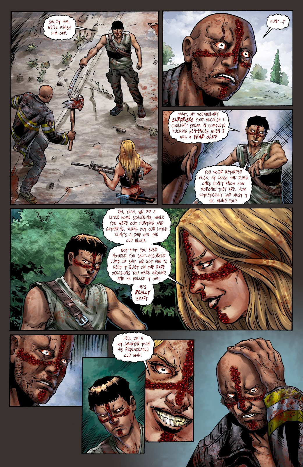 Crossed: Badlands issue 100 - Page 18