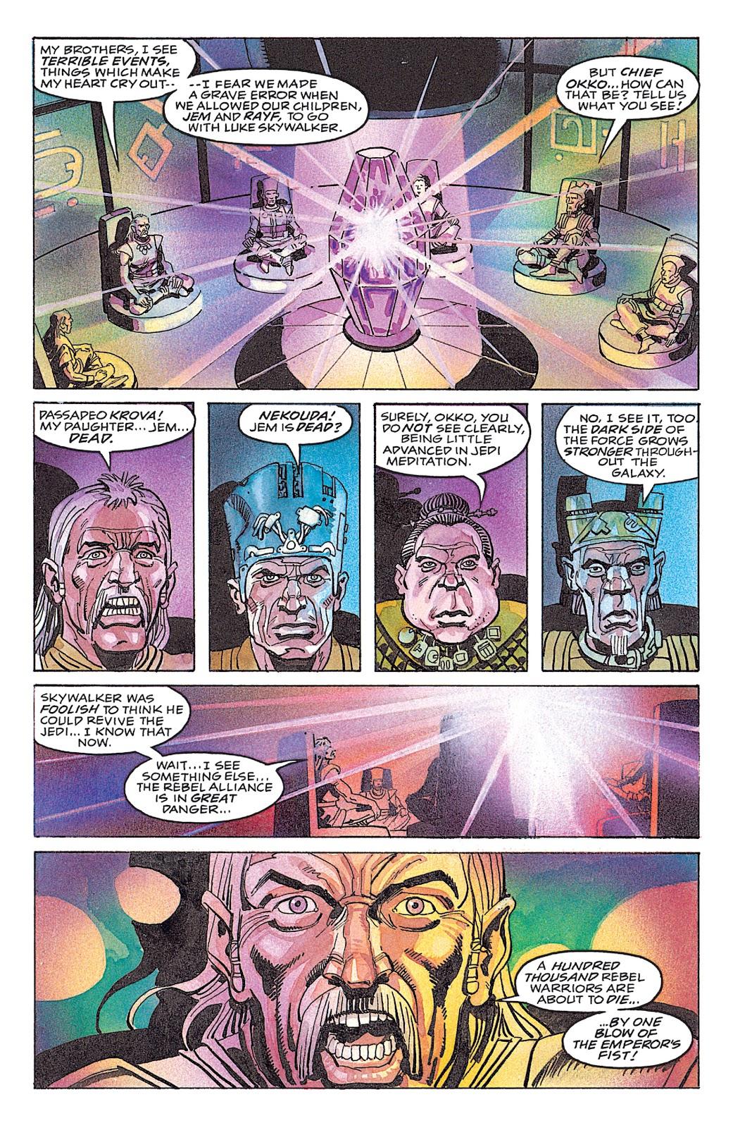 Read online Star Wars: Dark Empire Trilogy comic -  Issue # TPB (Part 4) - 10