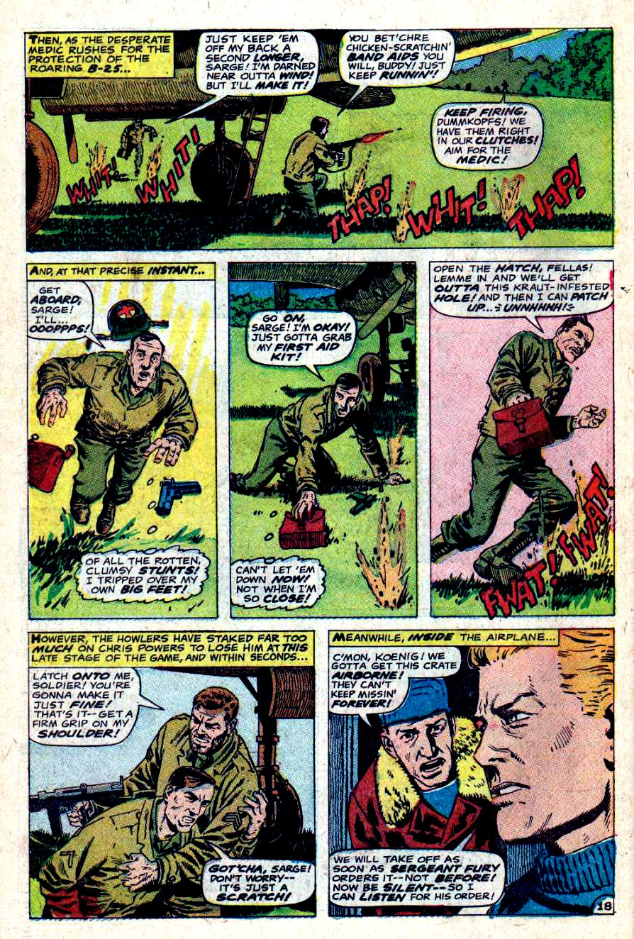 Read online Sgt. Fury comic -  Issue #46 - 26